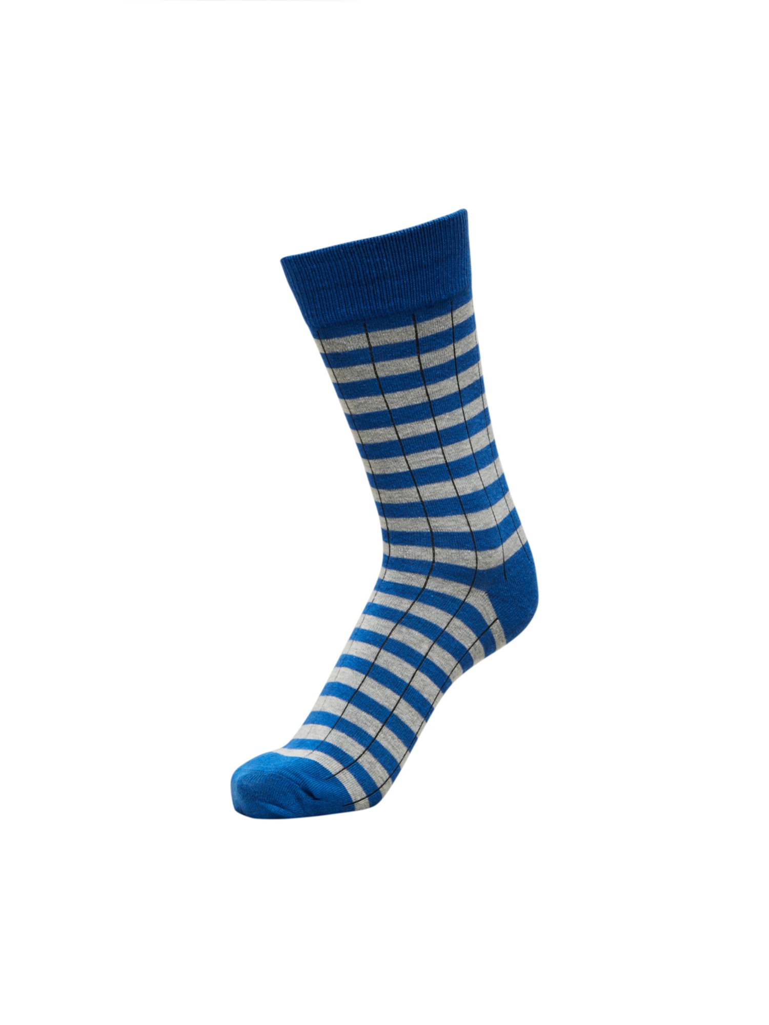 SELECTED HOMME Kojinės mėlyna / šviesiai pilka / tamsiai mėlyna