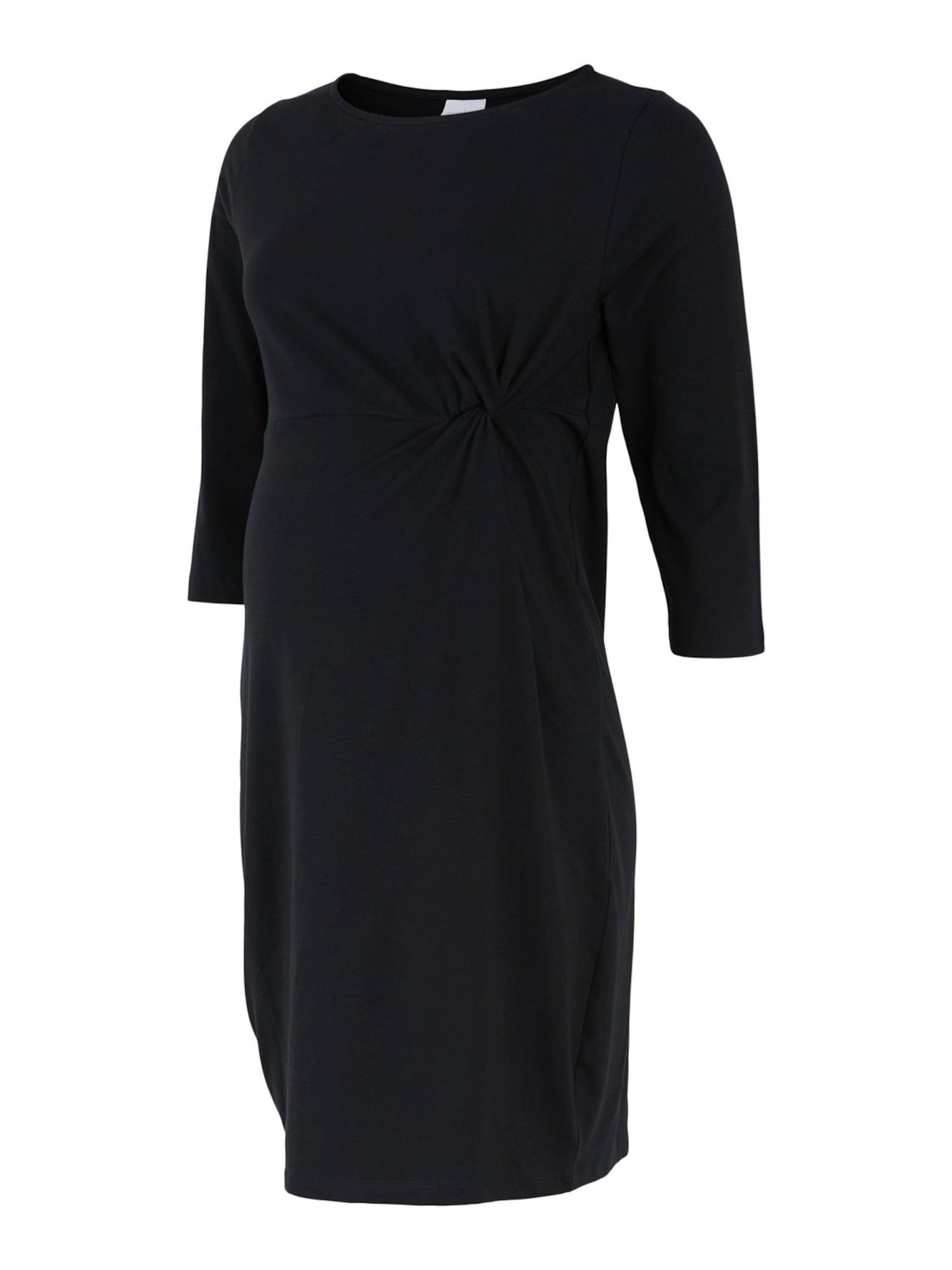 MAMALICIOUS Suknelė 'Sia' juoda