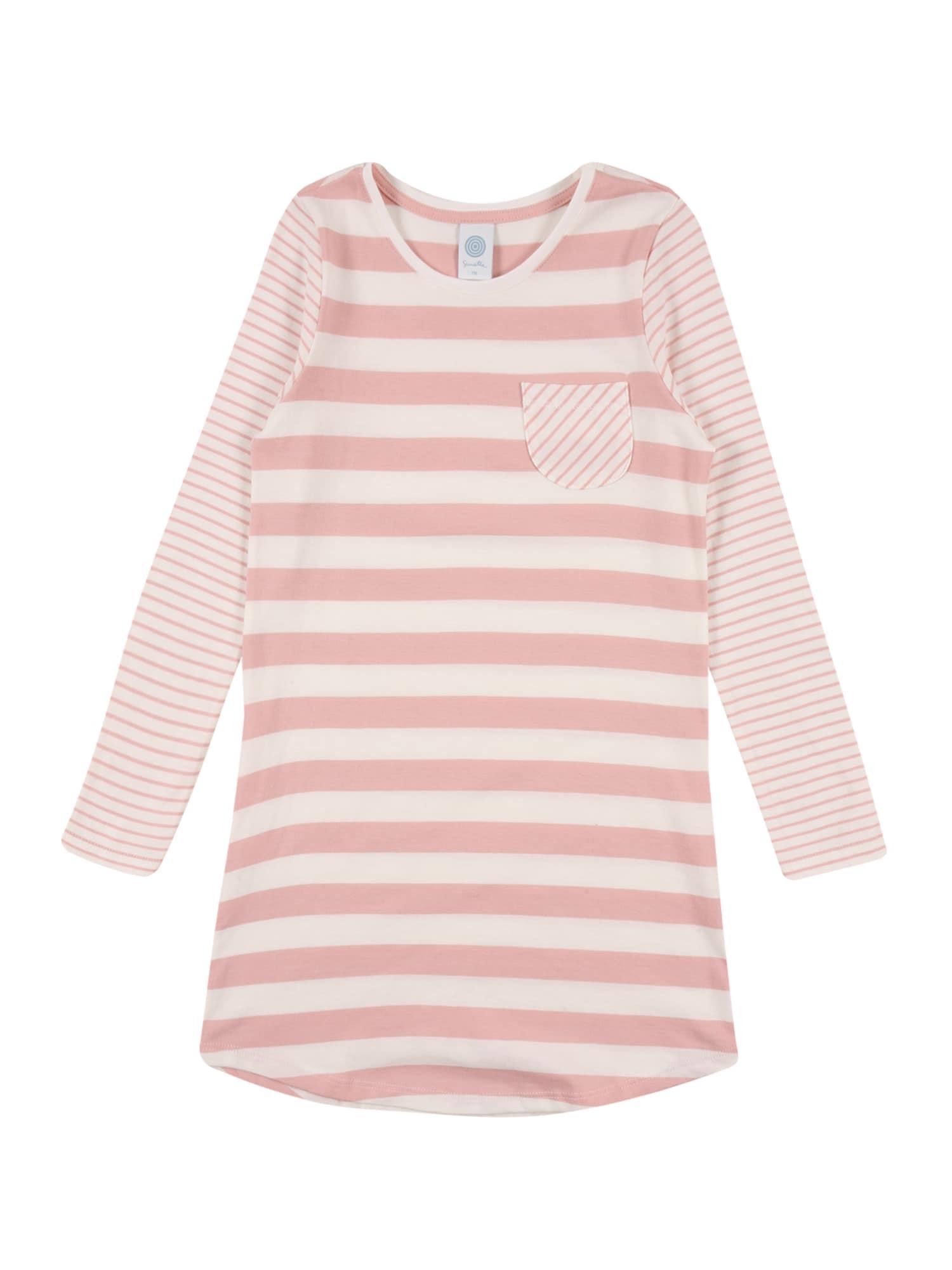 SANETTA Naktinukai ryškiai rožinė spalva / balta