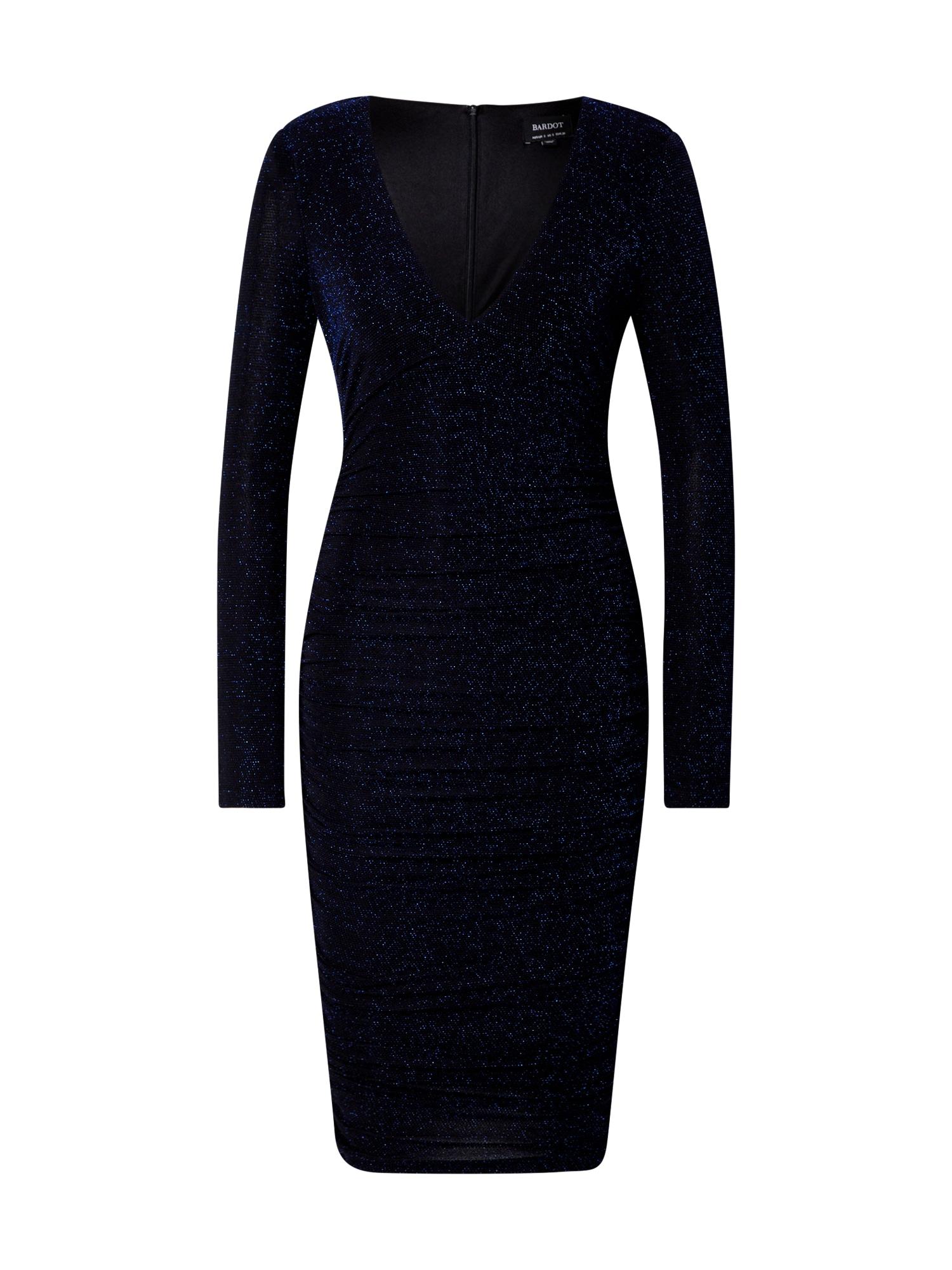 Bardot Kokteilinė suknelė tamsiai mėlyna