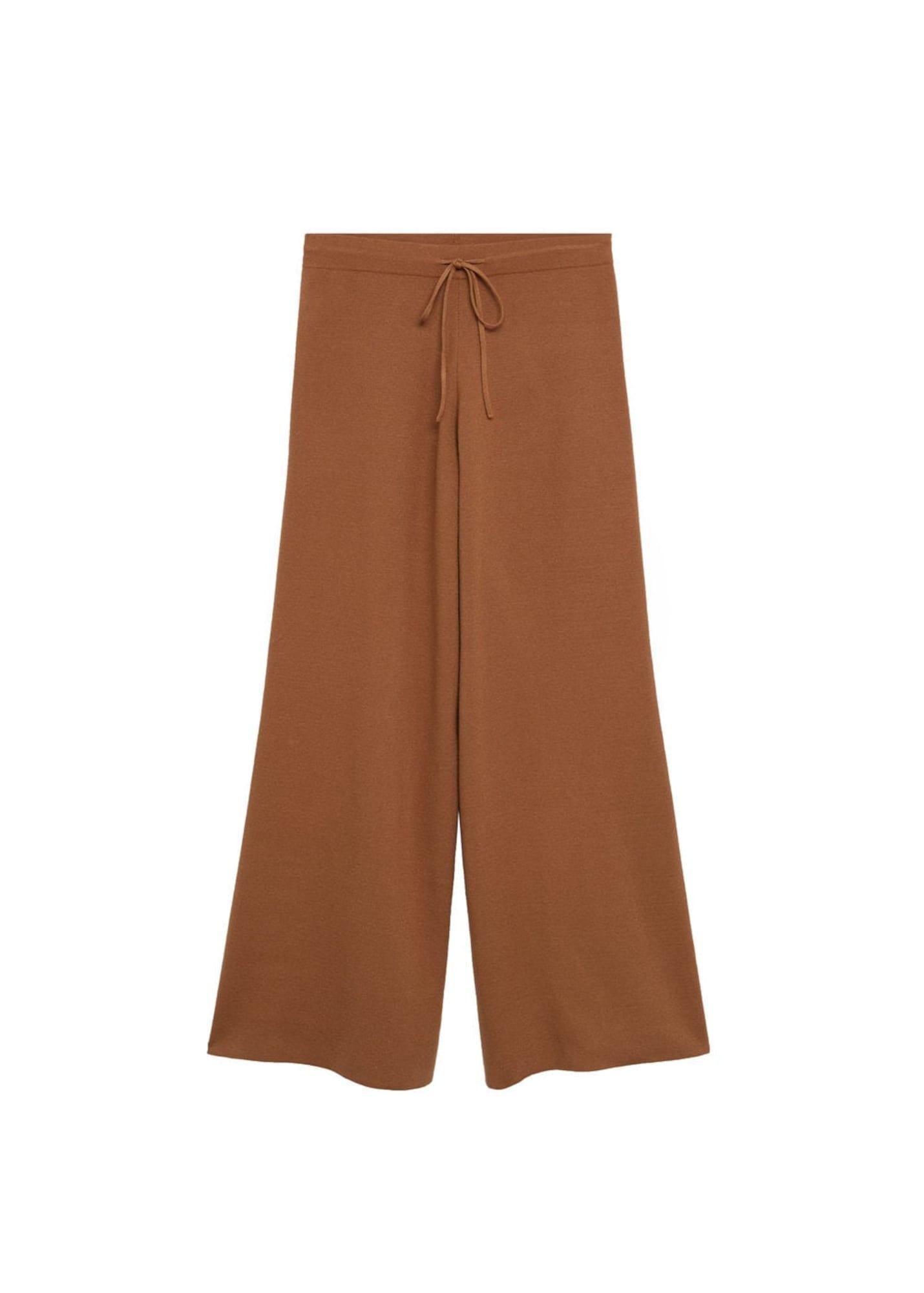 MANGO Harémové kalhoty 'Sol-A'  hnědá