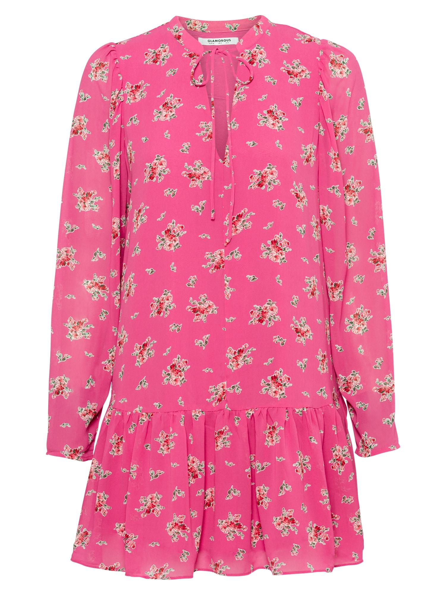 GLAMOROUS Šaty  pink / mix barev