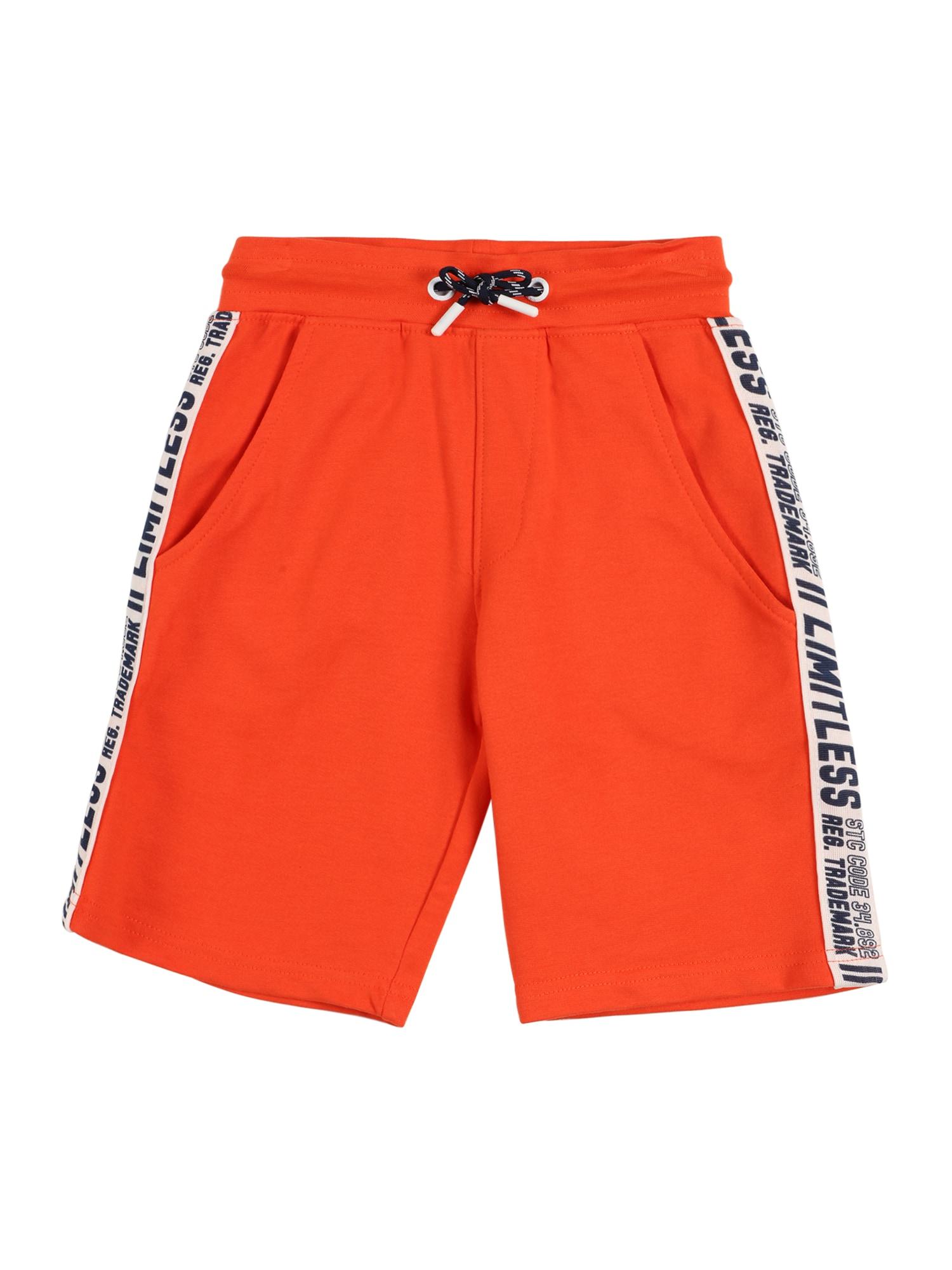 STACCATO Kelnės balta / tamsiai mėlyna jūros spalva / oranžinė-raudona