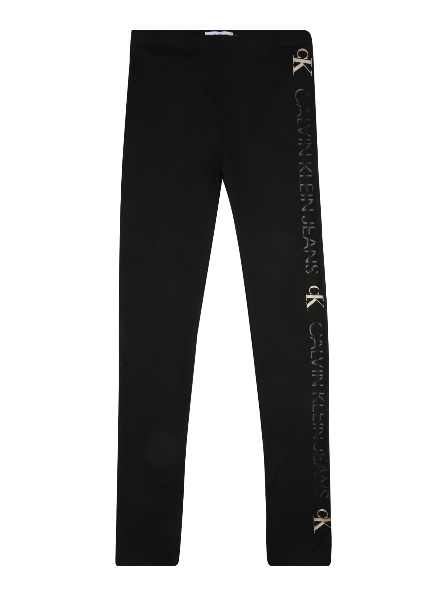 Calvin Klein Jeans Tamprės juoda / smėlio