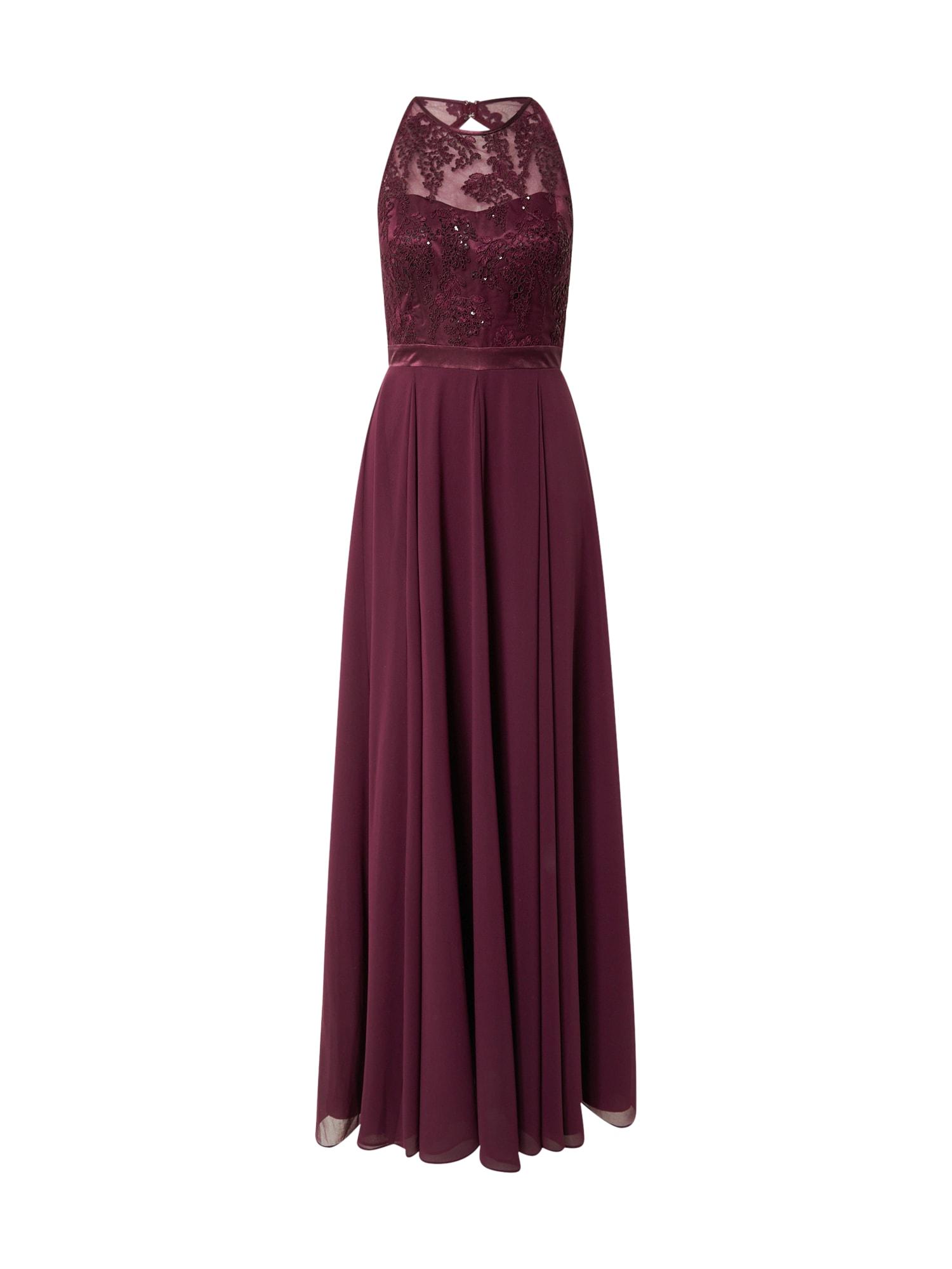 VM Vera Mont Vakarinė suknelė vyšninė spalva