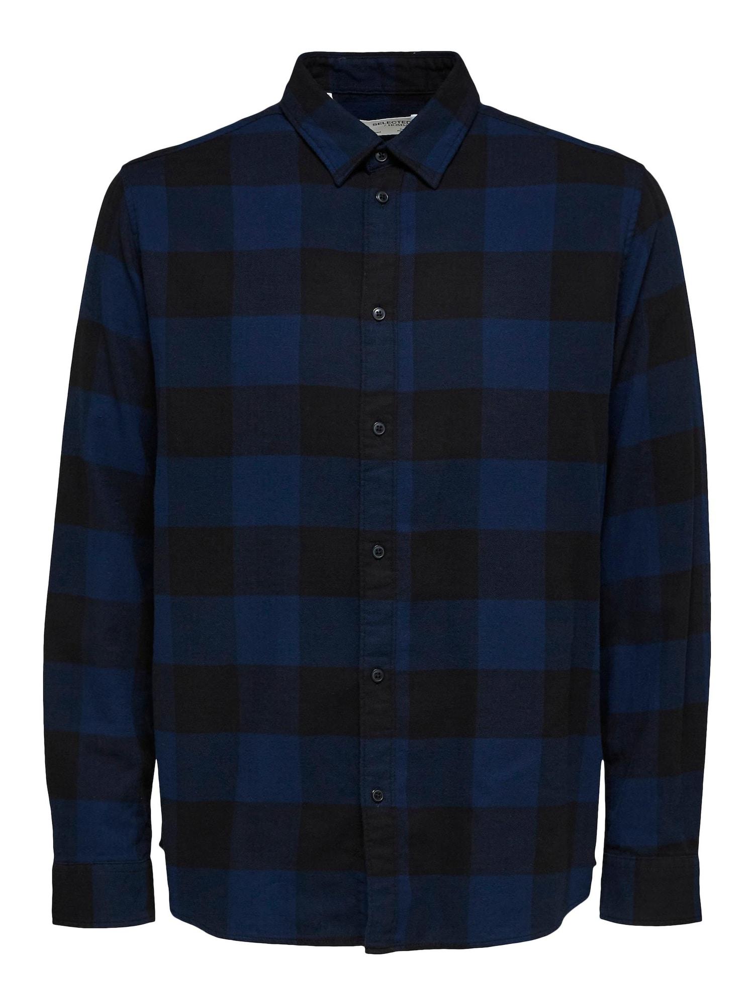 SELECTED HOMME Košile  modrá / tmavě modrá