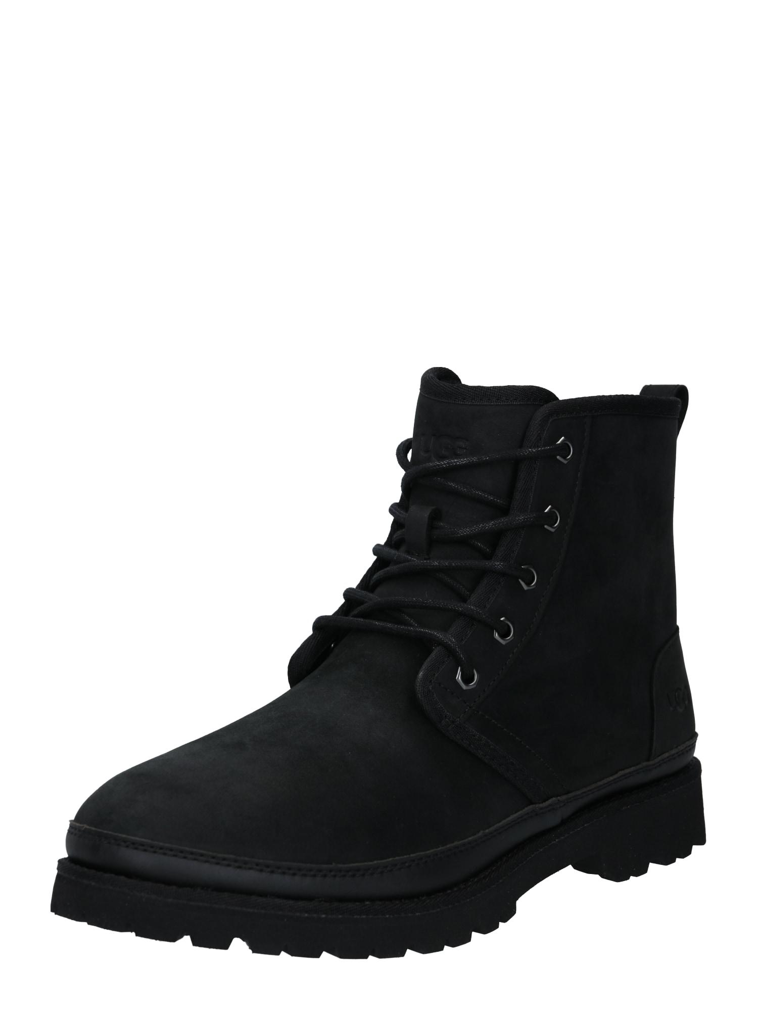 UGG Auliniai batai su raišteliais juoda