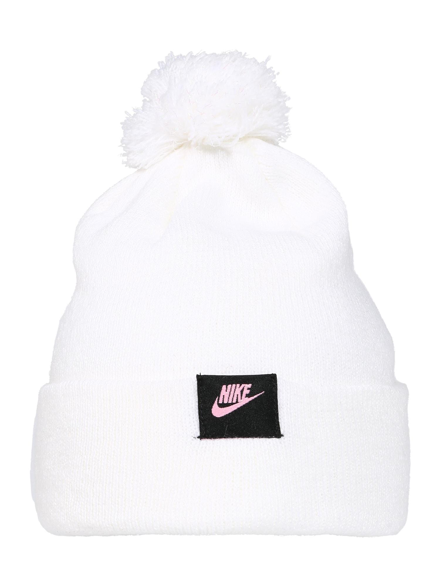 Nike Sportswear Megzta kepurė balta