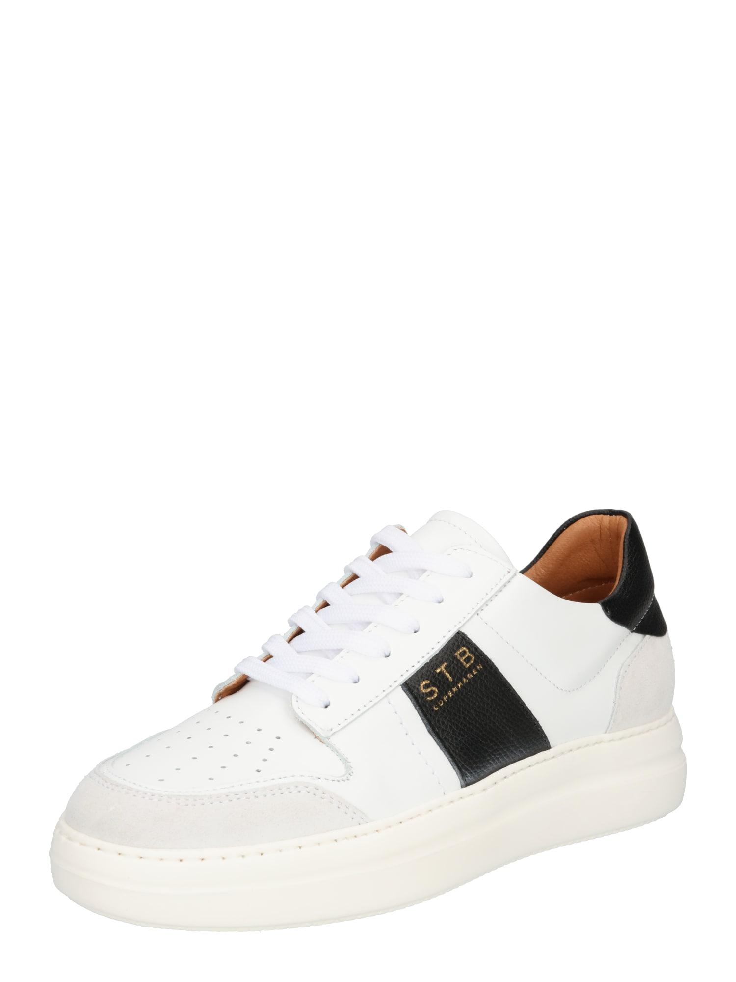 Shoe The Bear Sportbačiai be auliuko balta / juoda