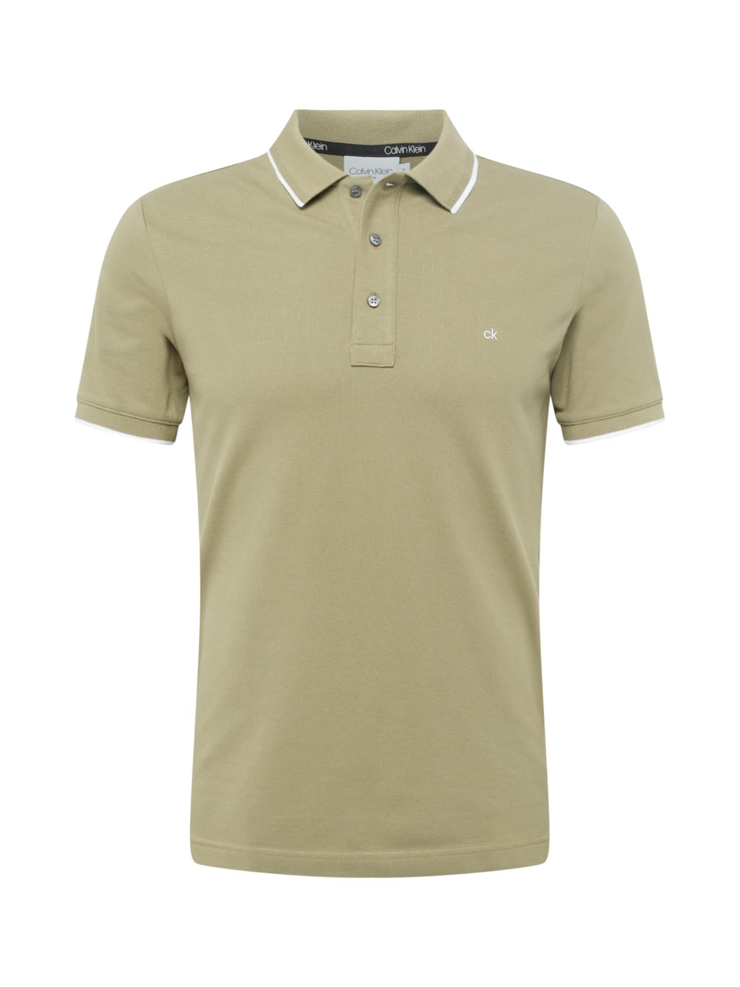 Calvin Klein Marškinėliai mėtų spalva