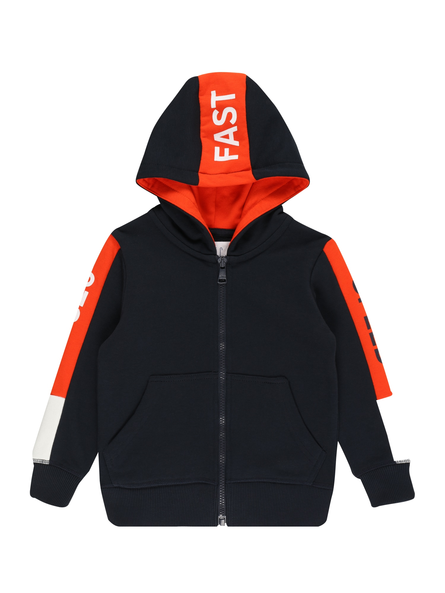 STACCATO Džemperis tamsiai mėlyna / balta / oranžinė