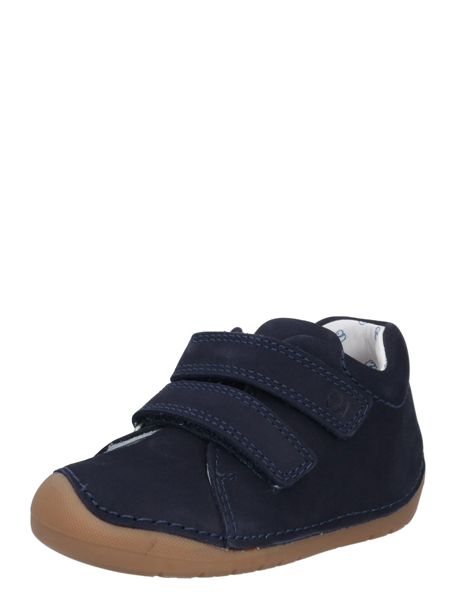 ELEFANTEN Pirmieji vaiko vaikščiojimo bateliai 'Loop' tamsiai mėlyna