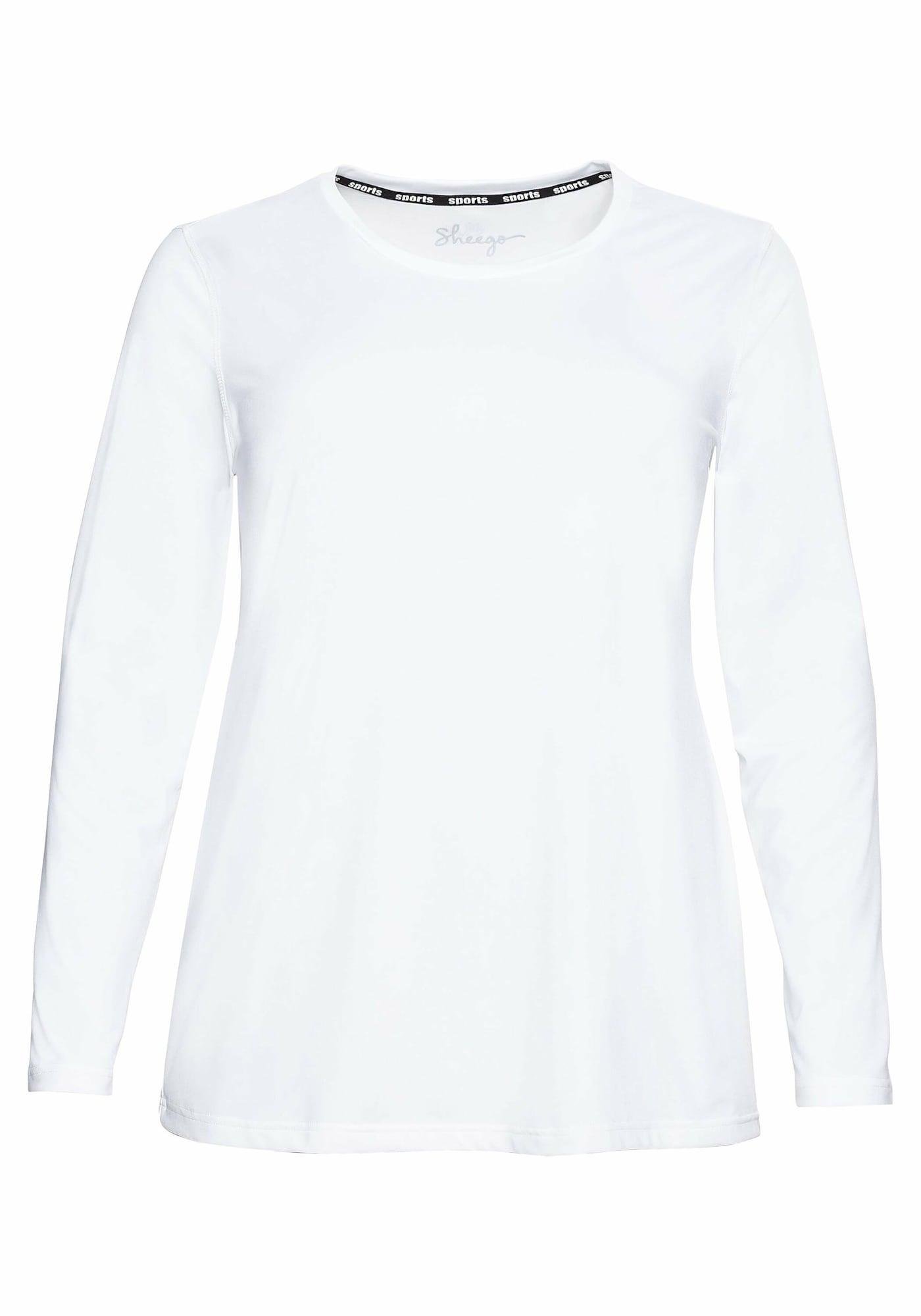 SHEEGO Sportiniai marškinėliai balta