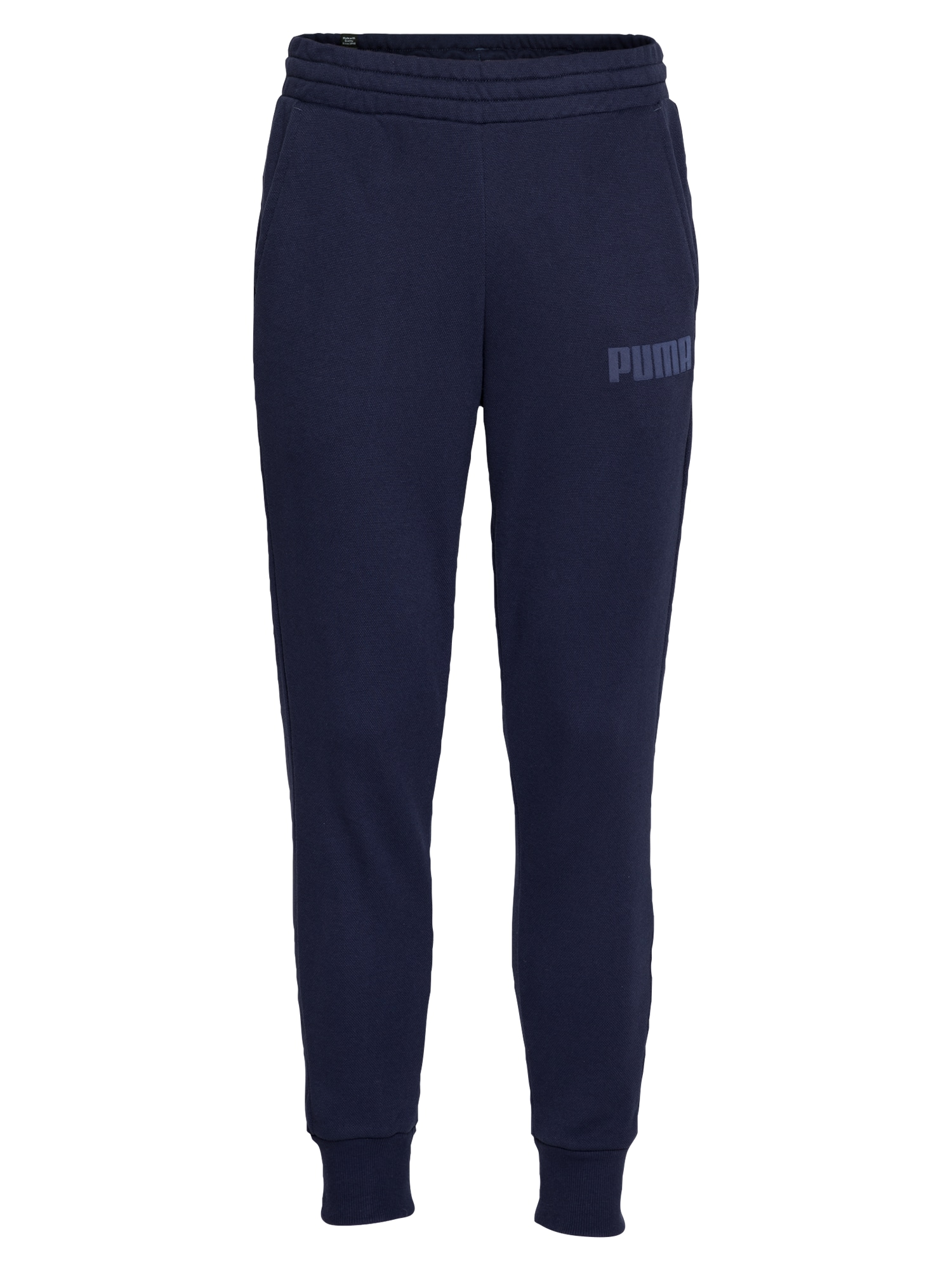 PUMA Sportinės kelnės tamsiai mėlyna jūros spalva