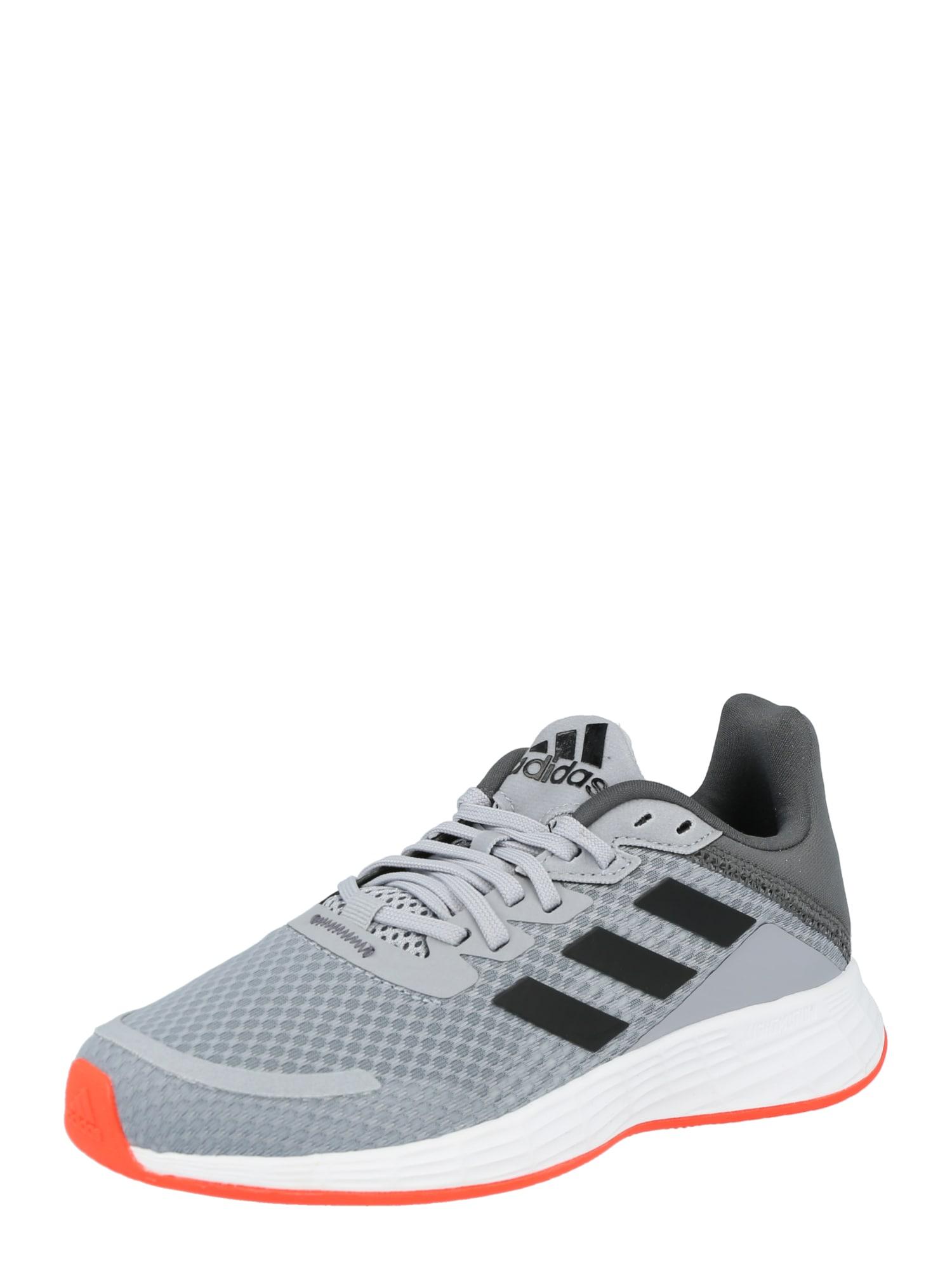 ADIDAS PERFORMANCE Sportiniai batai 'Duramo' šviesiai pilka / juoda
