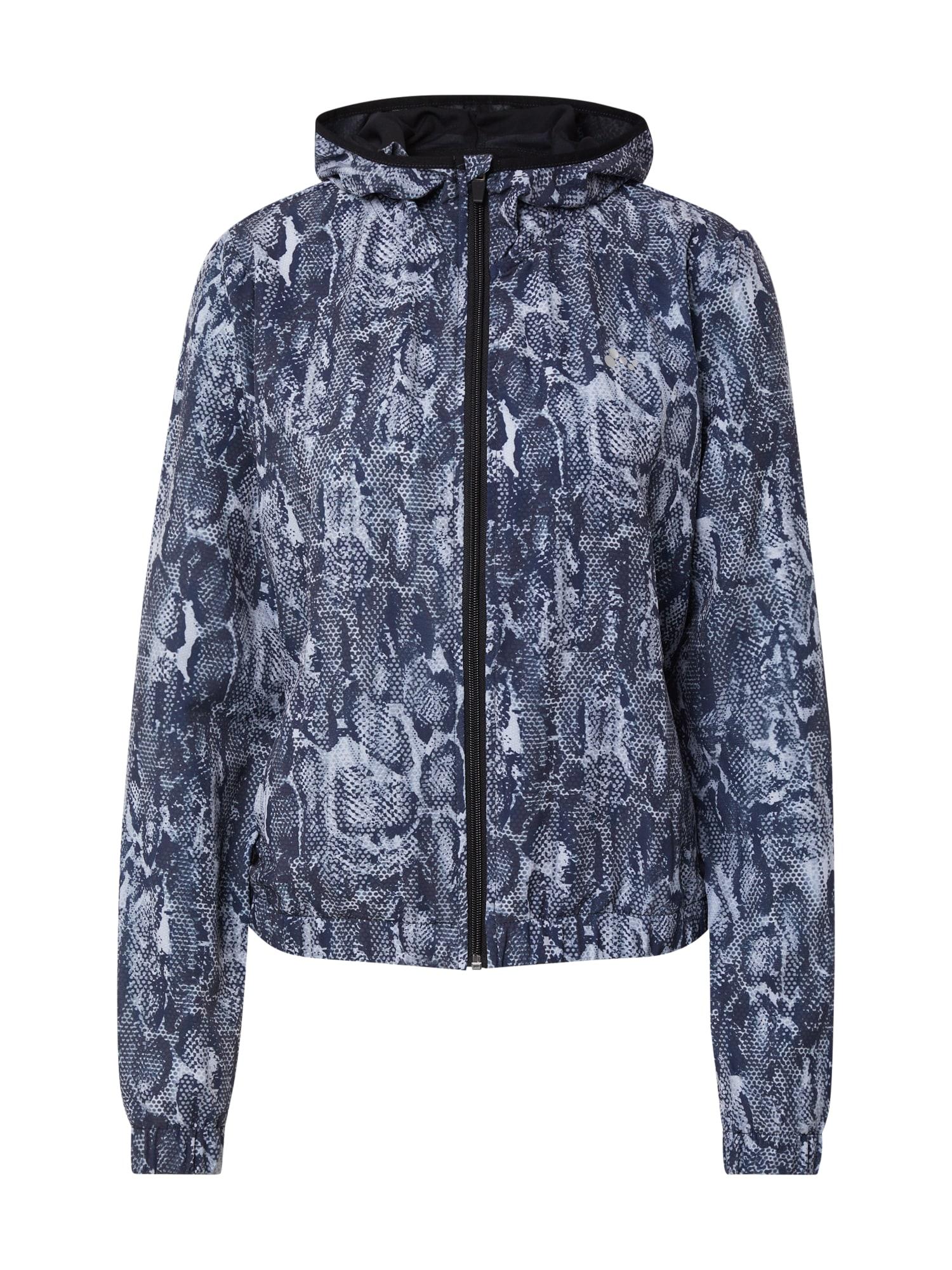 ONLY PLAY Sportovní bunda 'MAJLI'  šedá / tmavě modrá