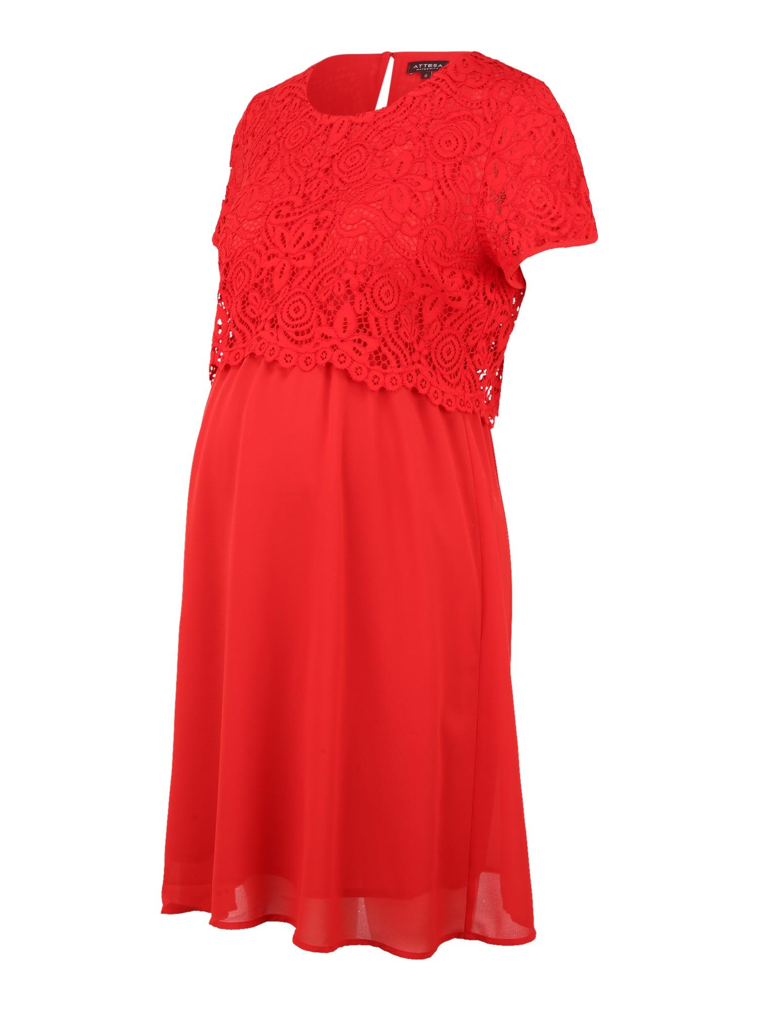 Attesa Kokteilinė suknelė raudona