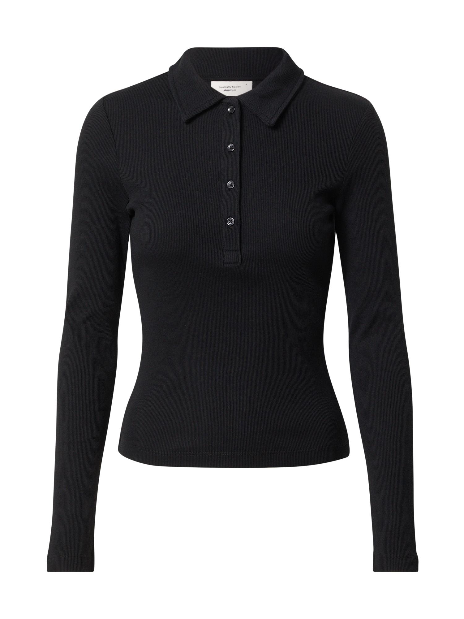 Gina Tricot Marškinėliai 'Bea' juoda
