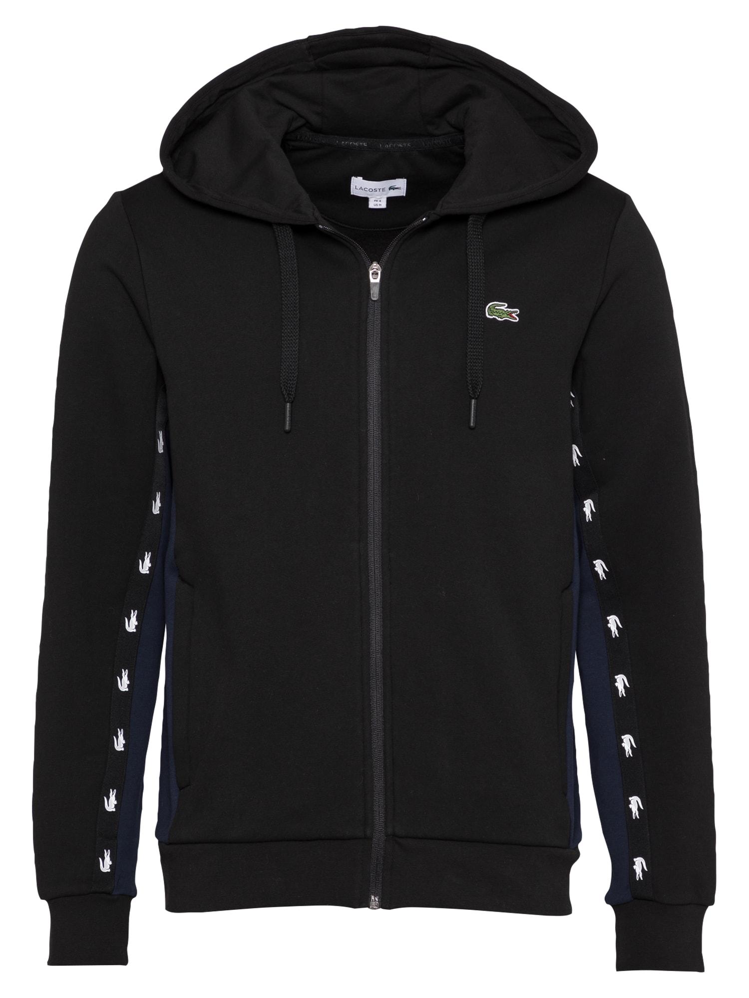 LACOSTE Džemperis juoda
