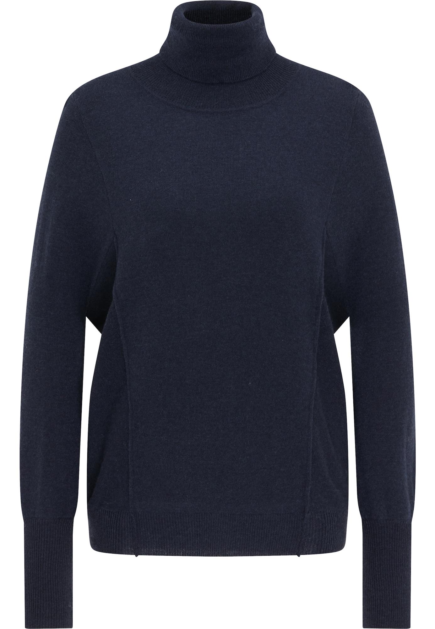 DreiMaster Klassik Laisvas megztinis tamsiai mėlyna