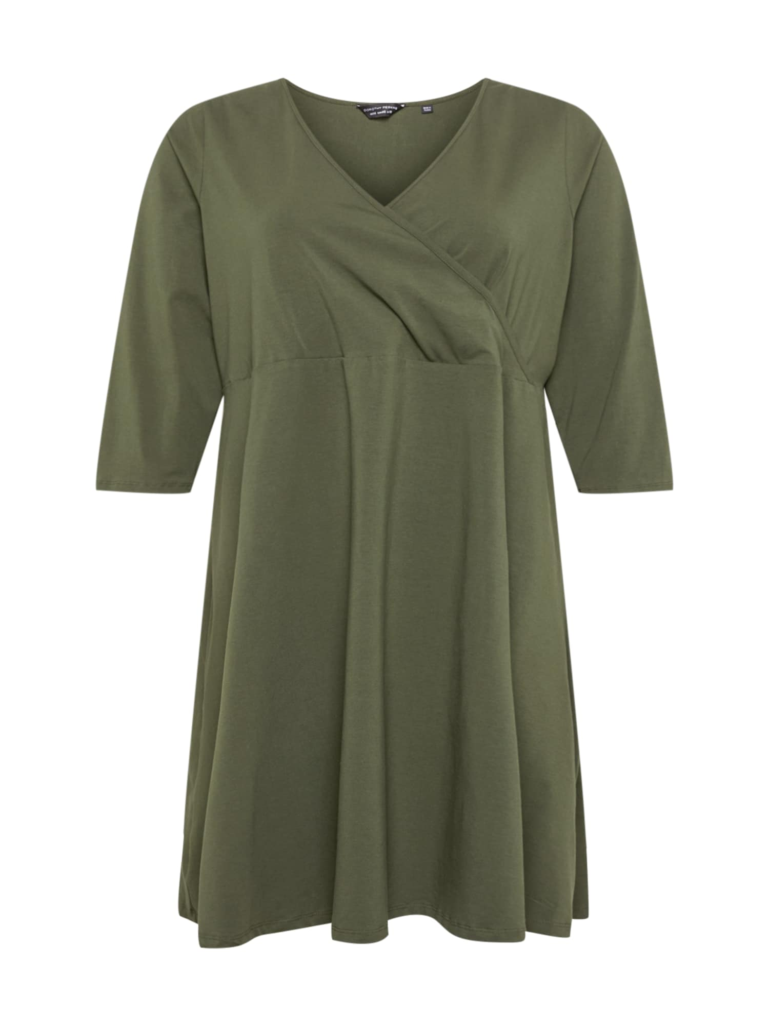Dorothy Perkins Curve Suknelė rusvai žalia