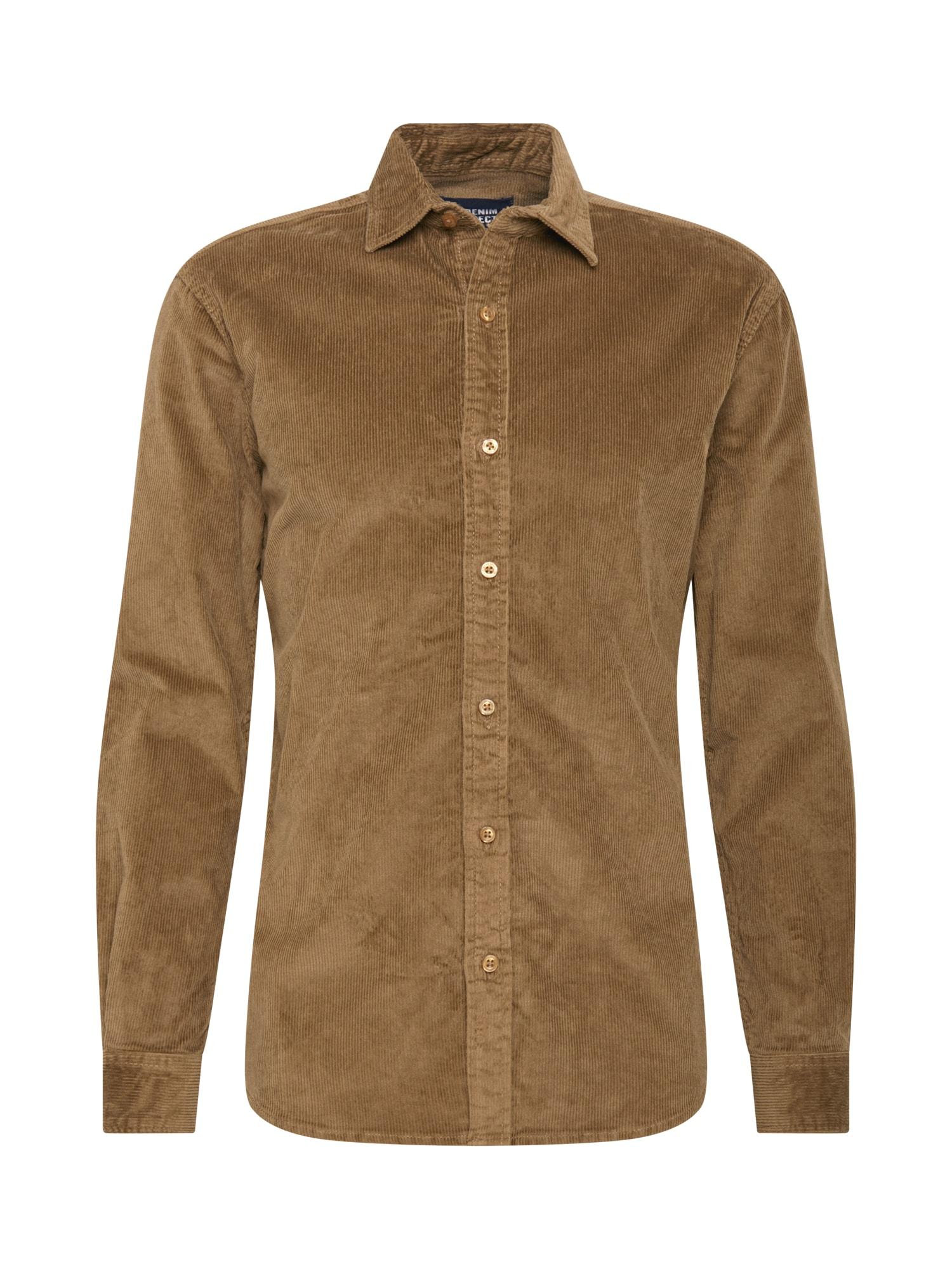 Denim Project Marškiniai ruda