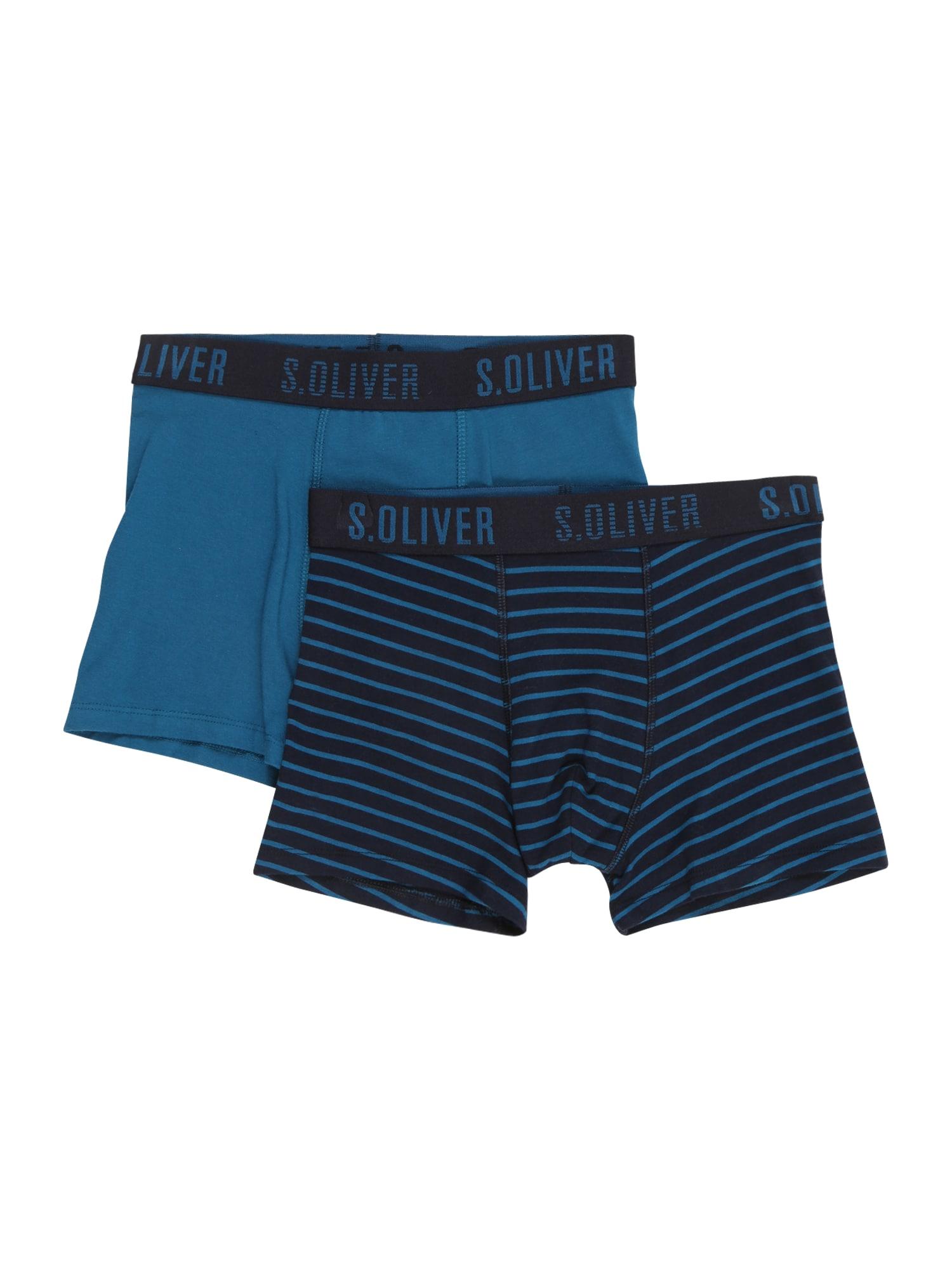 s.Oliver Spodní prádlo  modrá