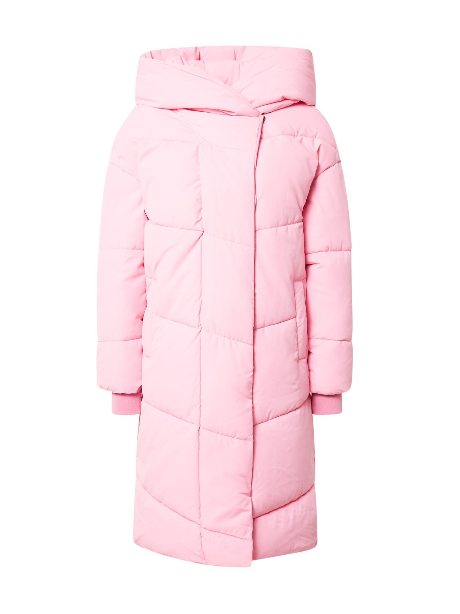 Noisy may Zimní kabát 'TALLY'  světle růžová