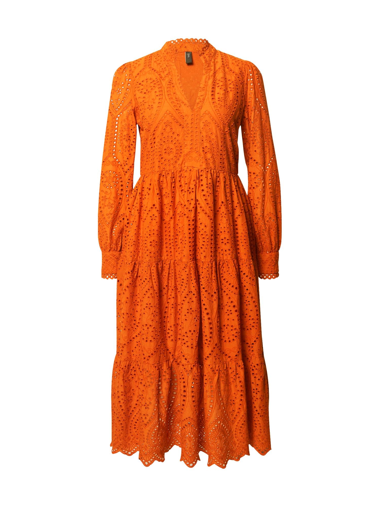 Y.A.S Košilové šaty 'Holi'  oranžová