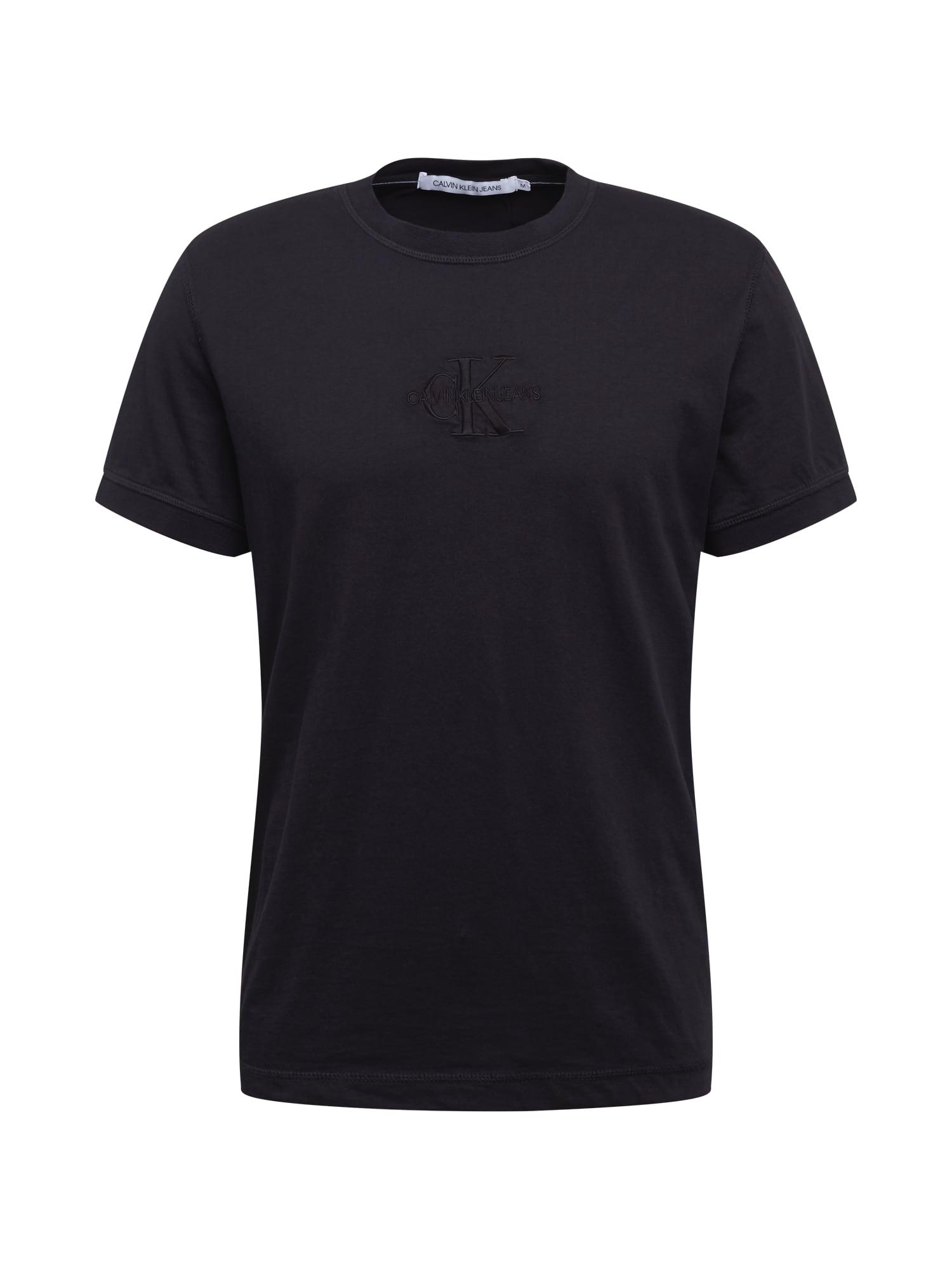 Calvin Klein Jeans Tričko  černá