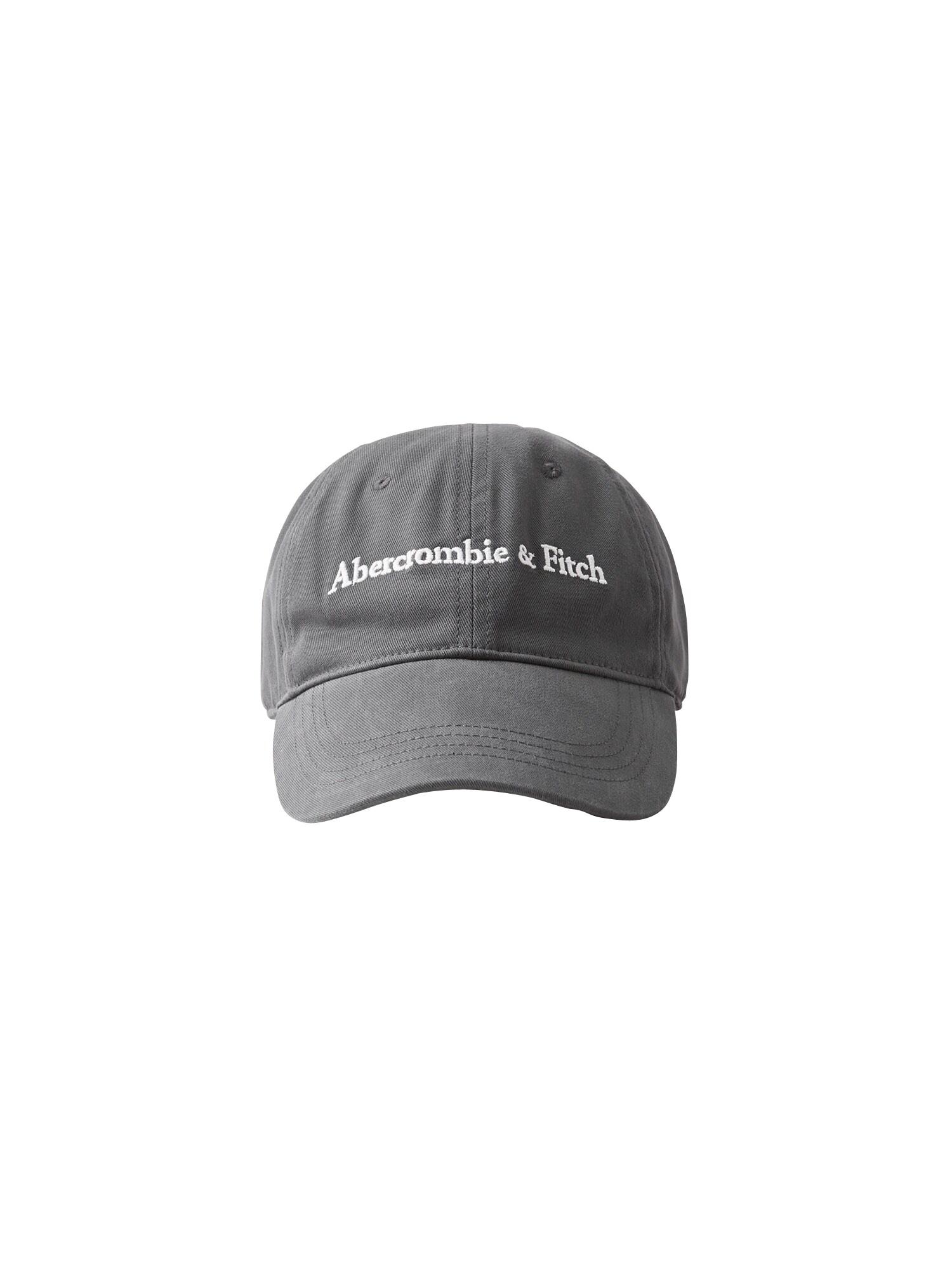 Abercrombie & Fitch Kšiltovka  tmavě šedá