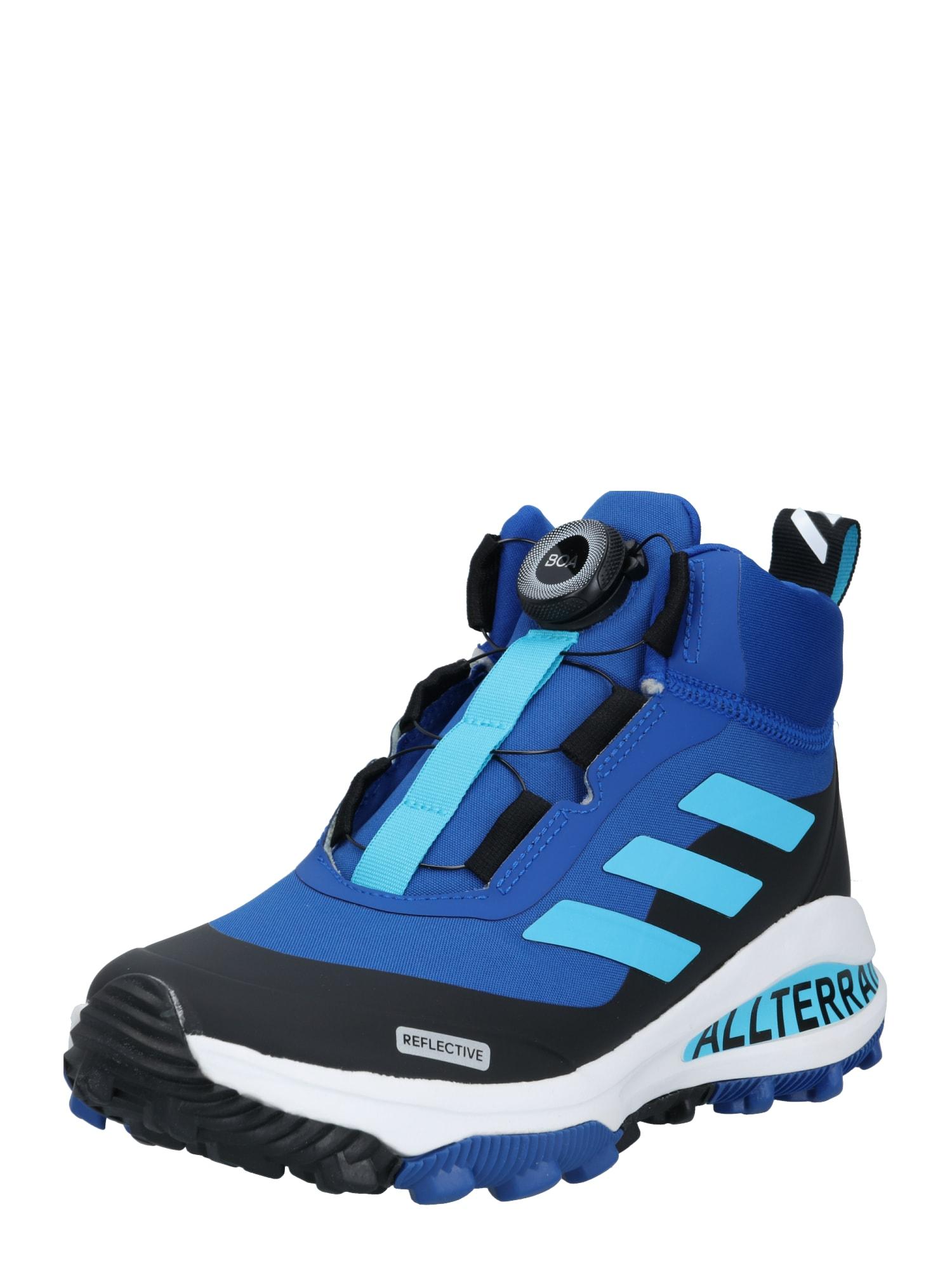 ADIDAS PERFORMANCE Sportovní boty 'FortaRun BOA ATR K'  černá / bílá / aqua modrá / modrá