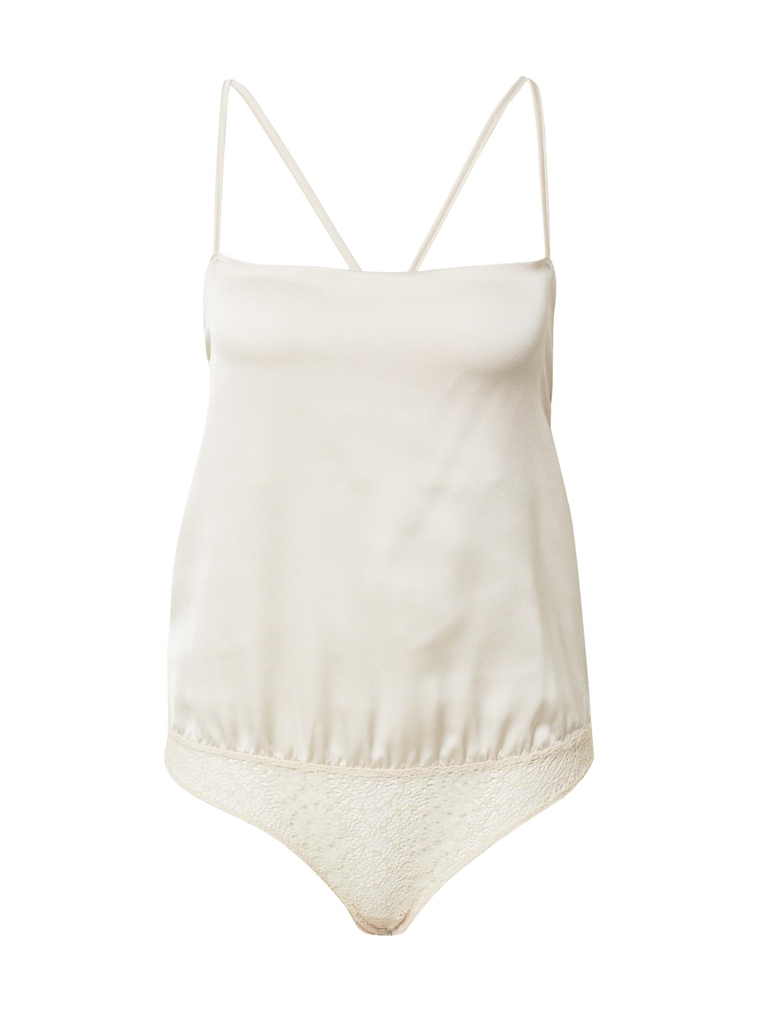 Icone Lingerie Marškinėliai-glaustinukė 'TARA' balta