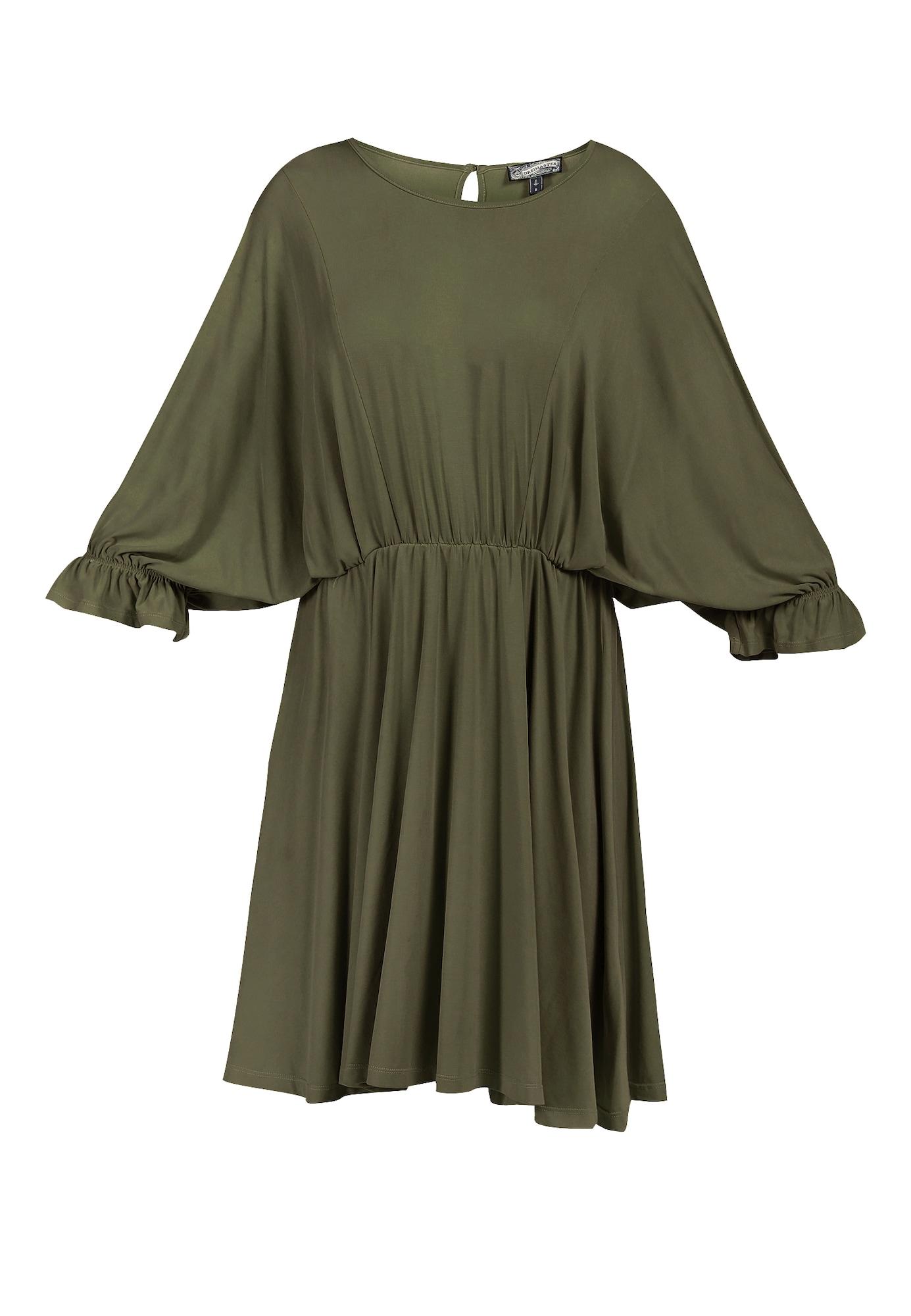 DreiMaster Vintage Suknelė rusvai žalia