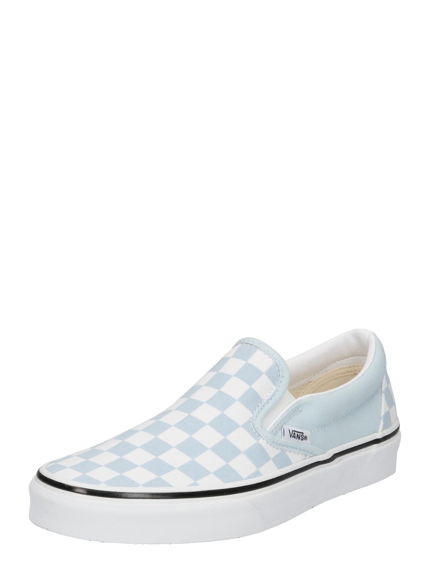 VANS Slip on boty  bílá / modrá