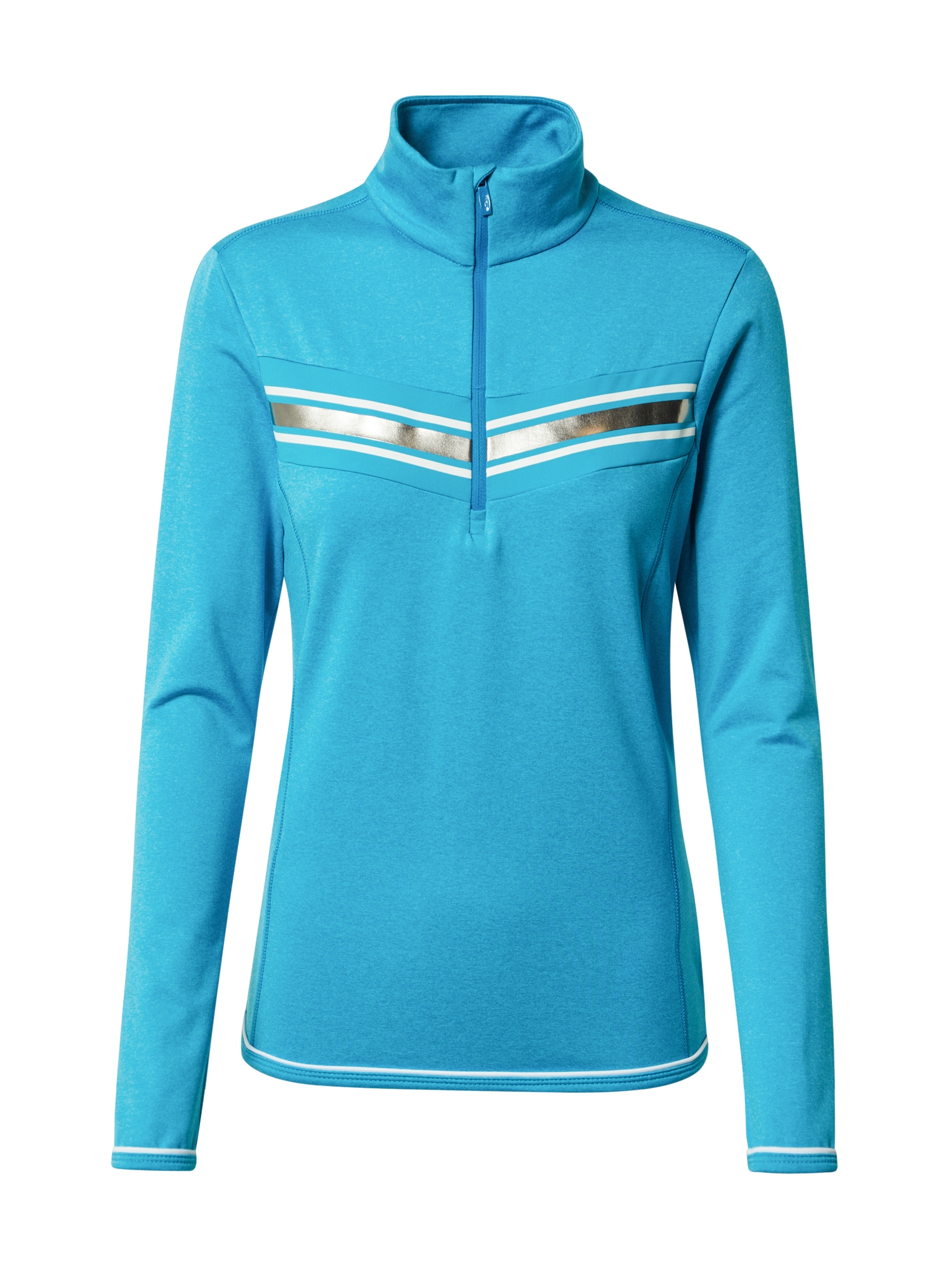CMP Sportinio tipo megztinis mėlyna / sidabrinė / balta