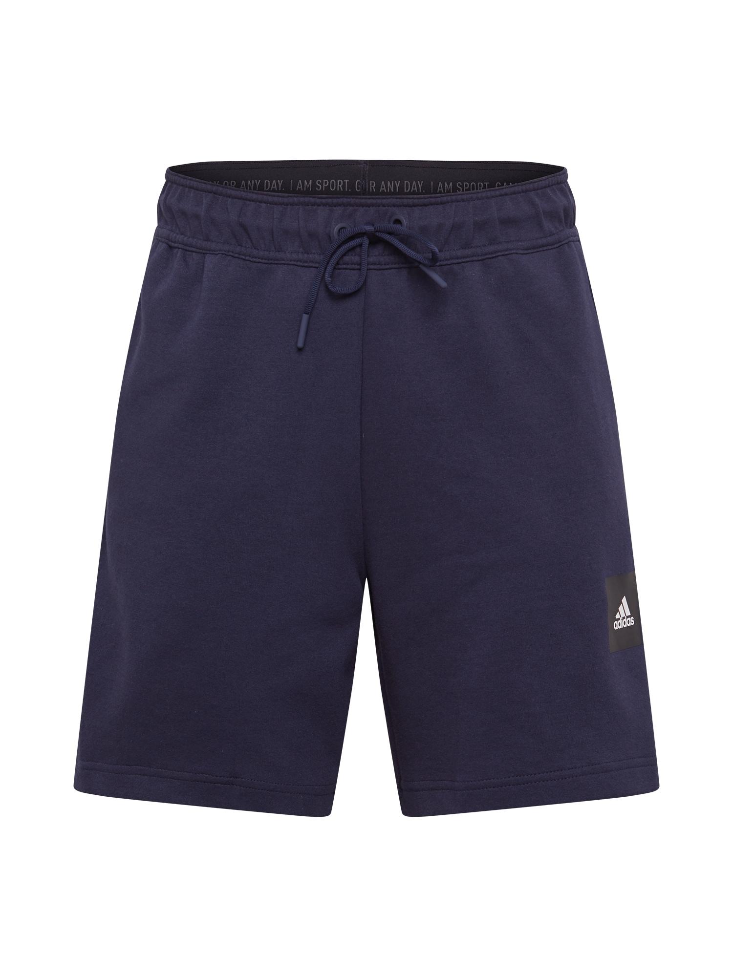 ADIDAS PERFORMANCE Sportinės kelnės tamsiai mėlyna / juoda / balta