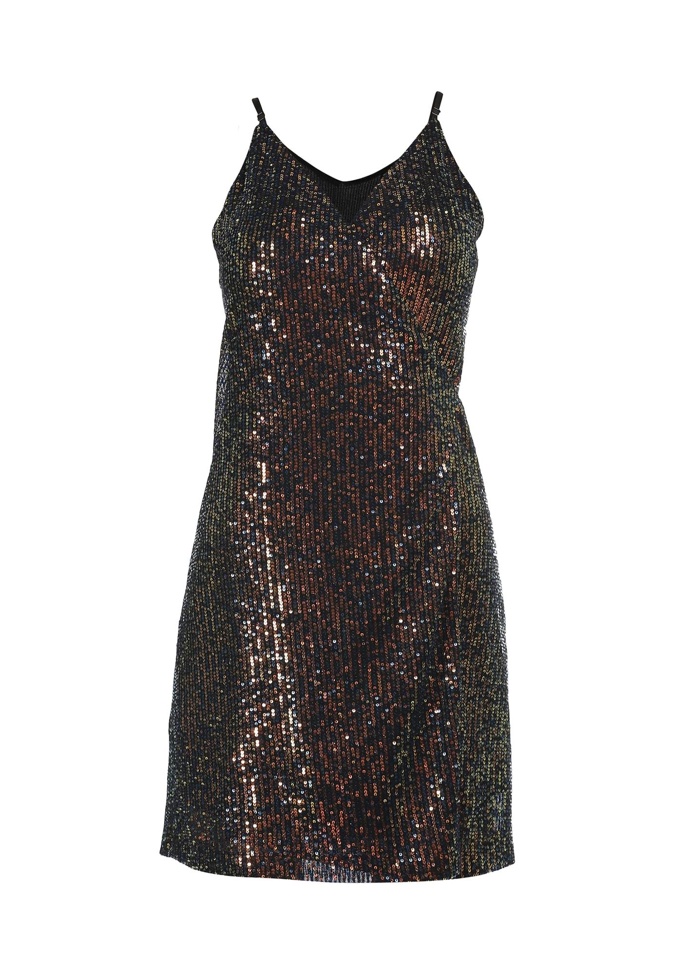 faina Kokteilinė suknelė mišrios spalvos / bazalto pilka