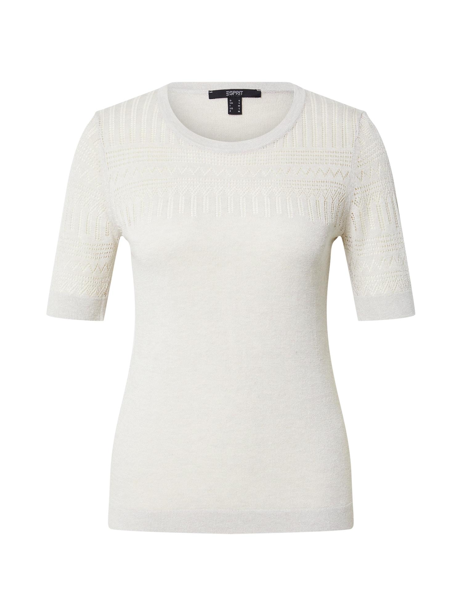 Esprit Collection Megztinis balkšva