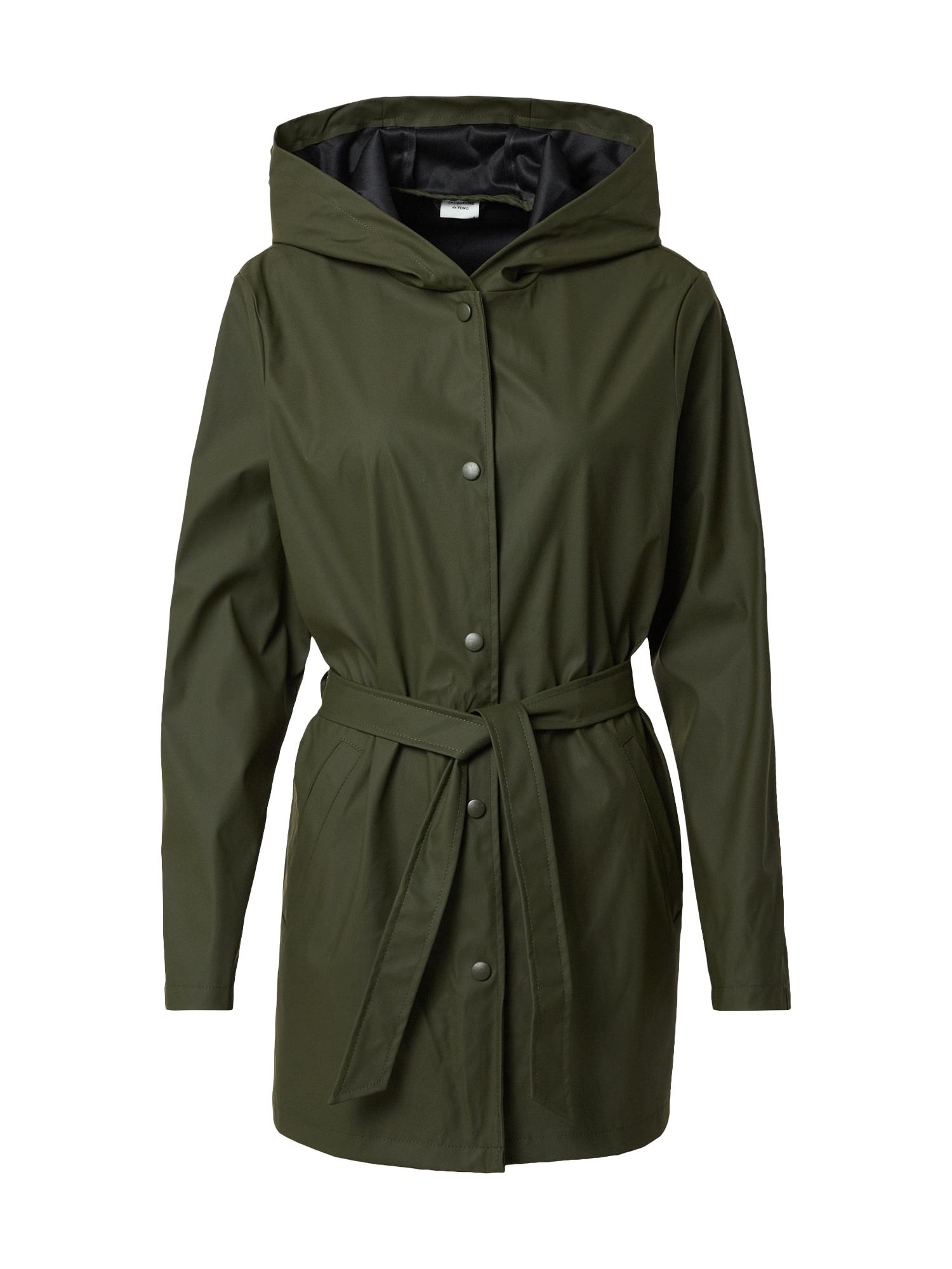 JACQUELINE de YONG Přechodný kabát  khaki