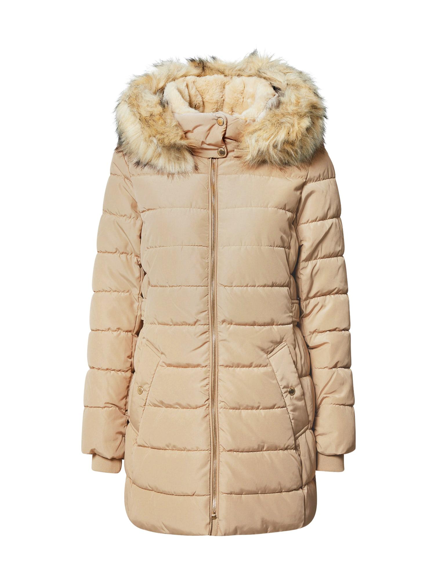 ONLY Zimní kabát  krémová