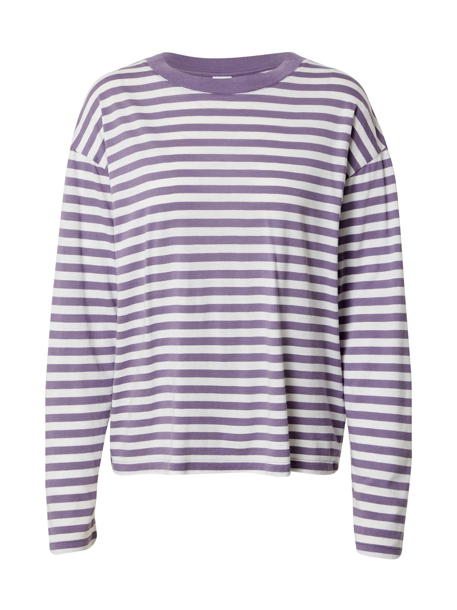 Kauf Dich Glücklich Marškinėliai slyvų spalva / balta