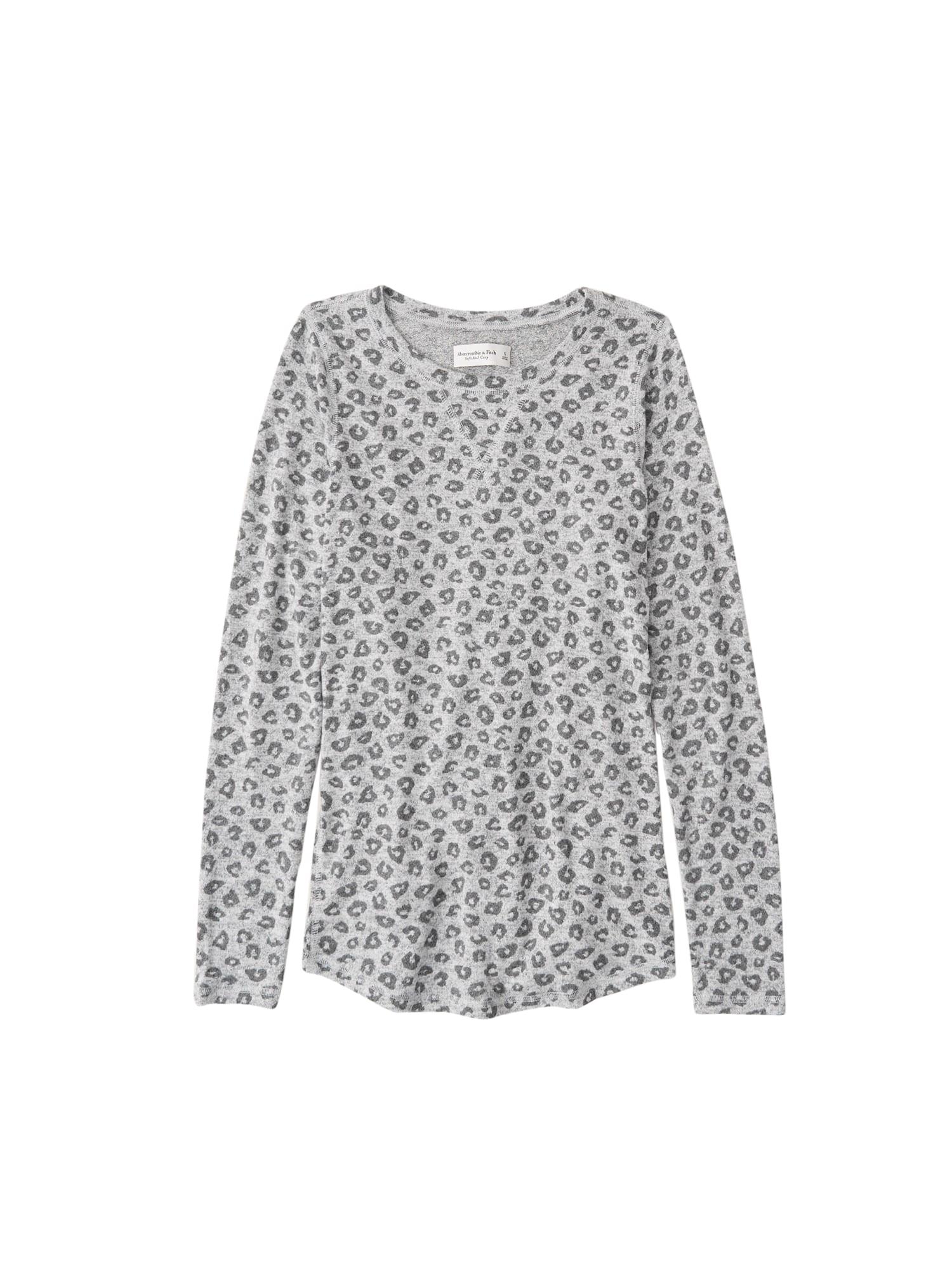 Abercrombie & Fitch Marškinėliai pilka / antracito
