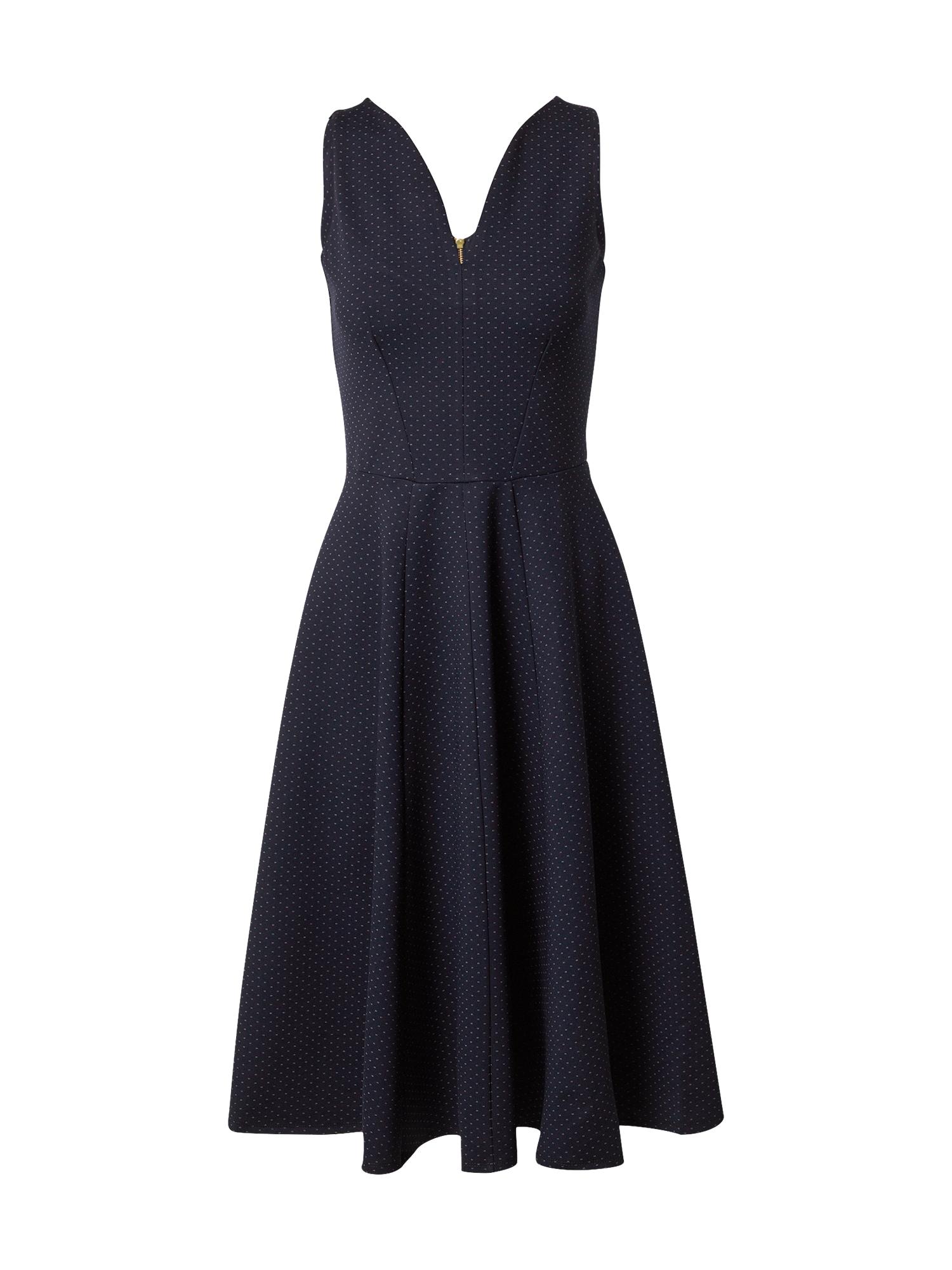 Closet London Kokteilinė suknelė auksas / tamsiai mėlyna