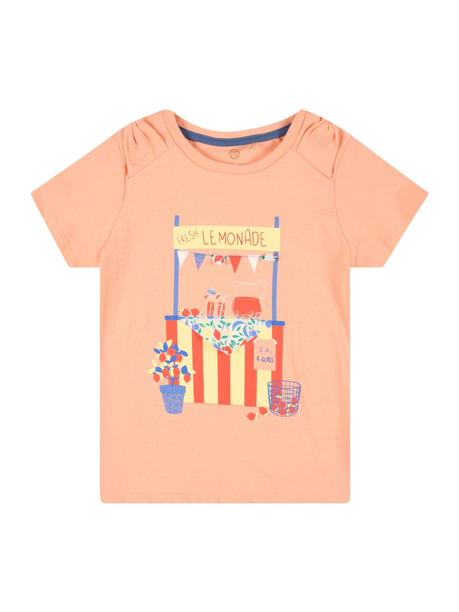 LEMON BERET Marškinėliai abrikosų spalva / mišrios spalvos