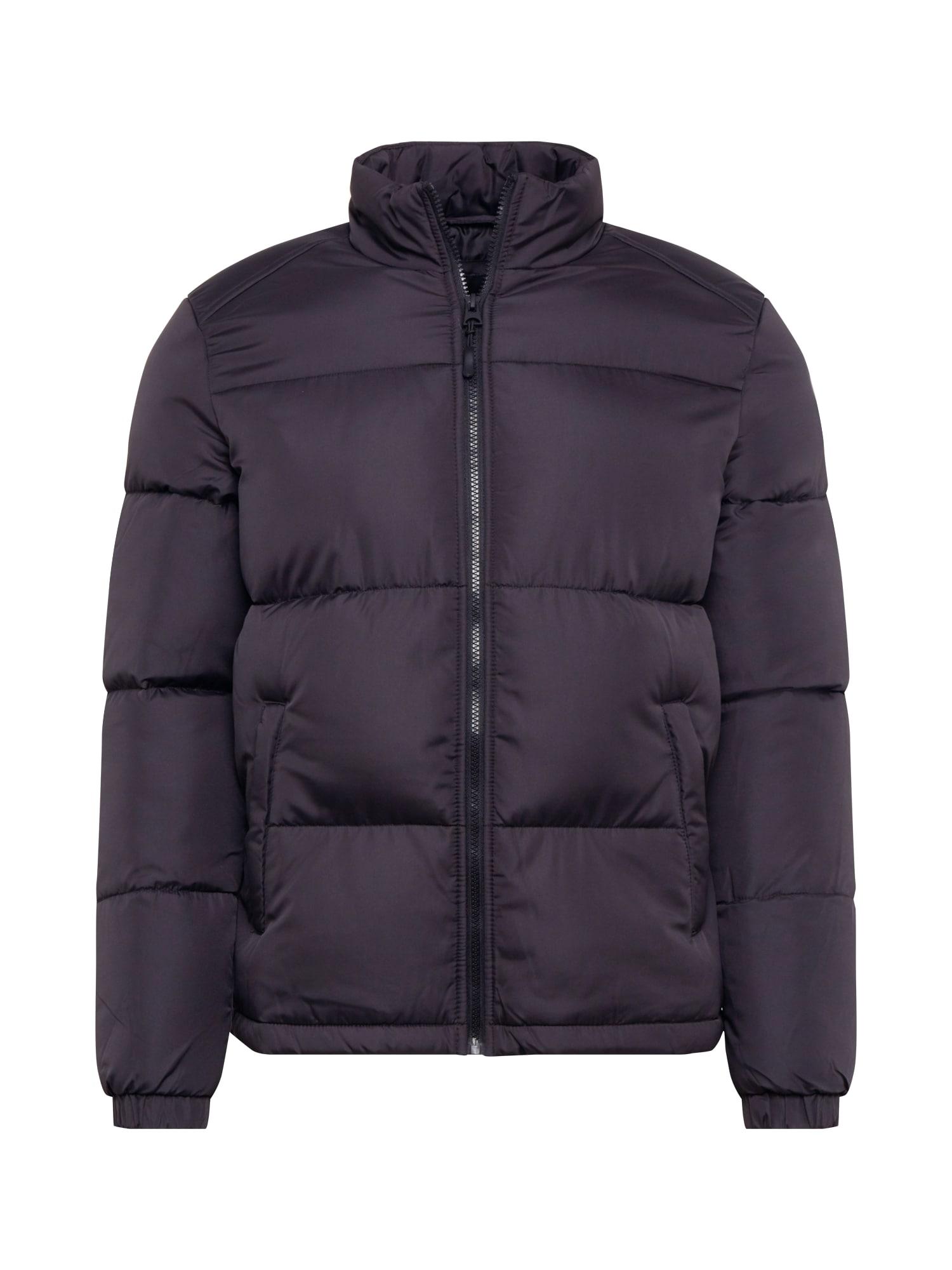 BRAVE SOUL Prechodná bunda 'Davis'  čierna