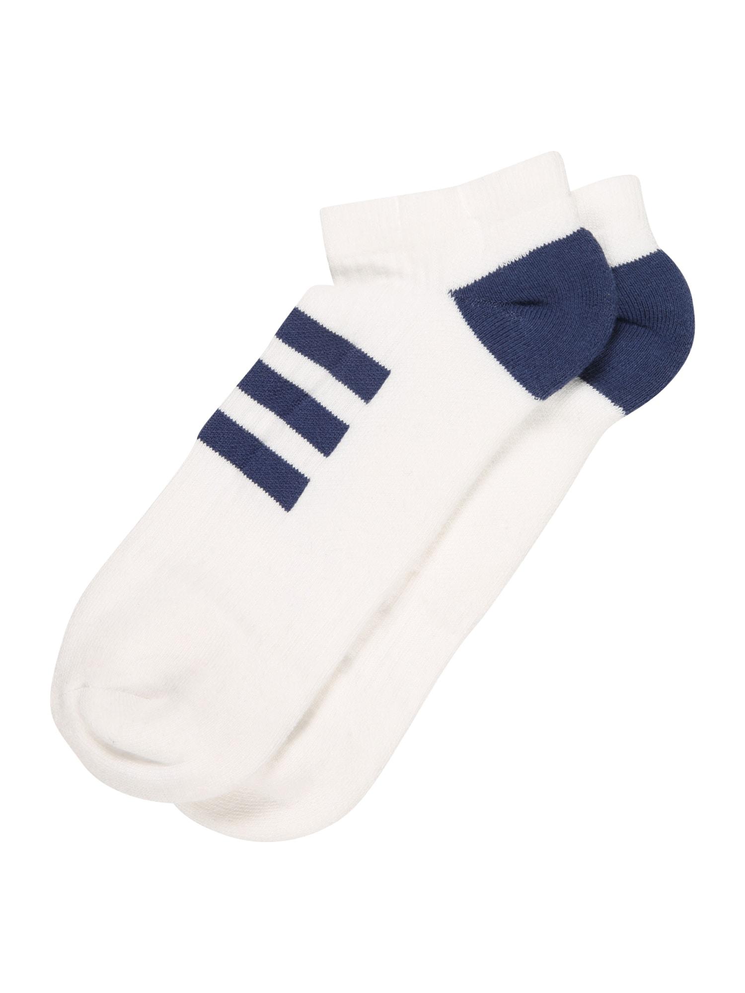 adidas Golf Sportinės kojinės balta / nakties mėlyna