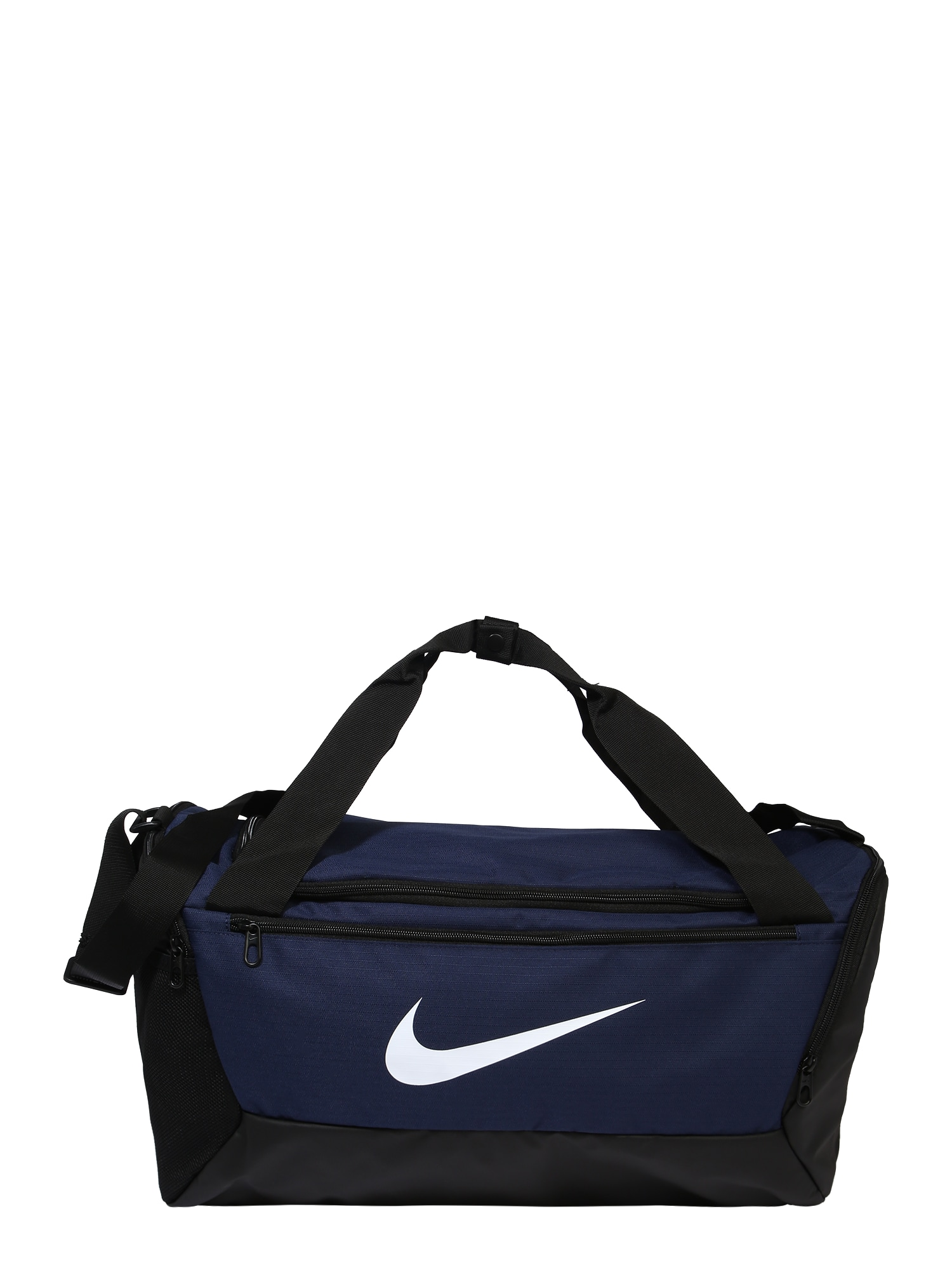 NIKE Sportovní taška  černá / modrá