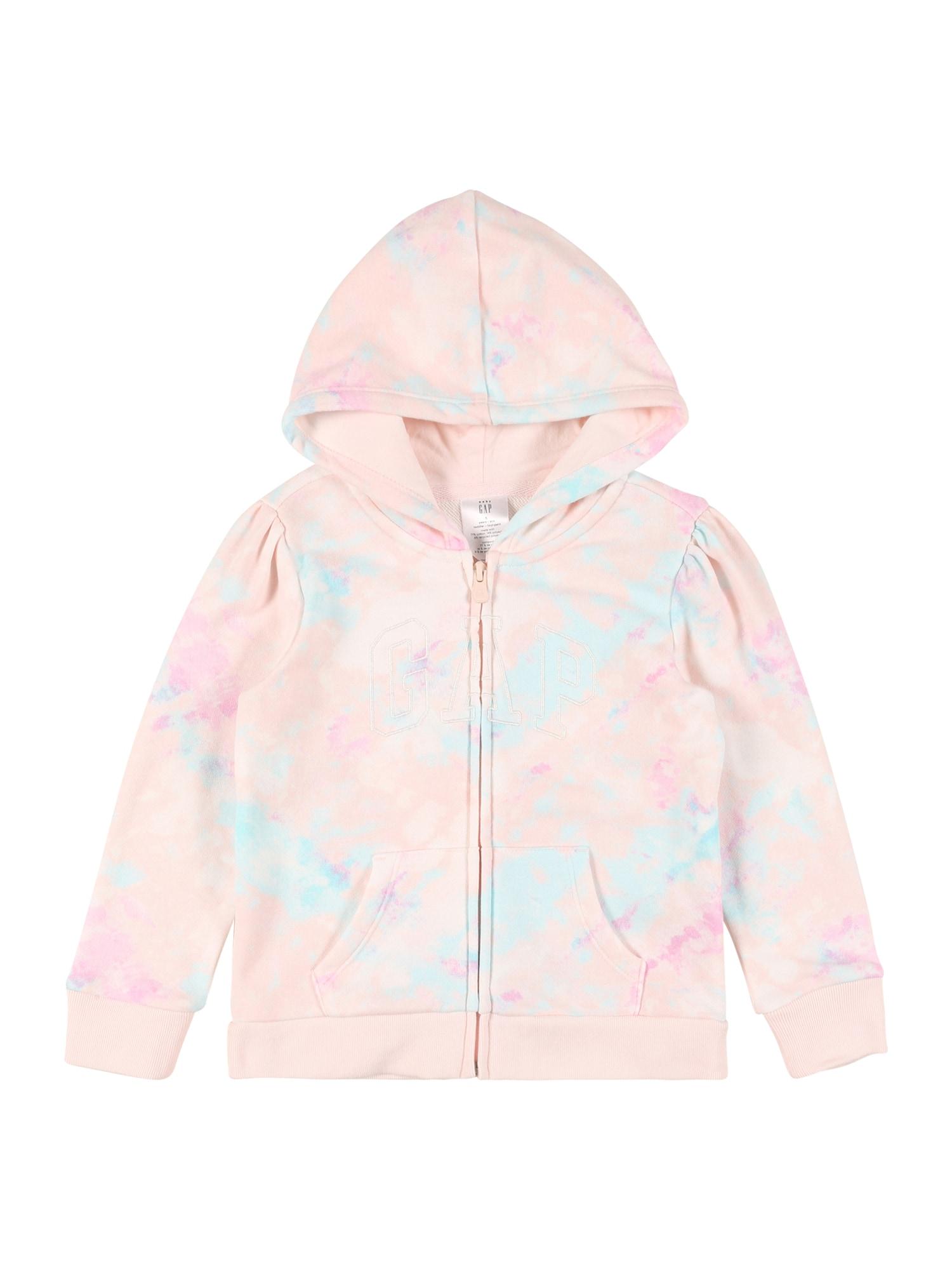 GAP Džemperis šviesiai rožinė / šviesiai mėlyna