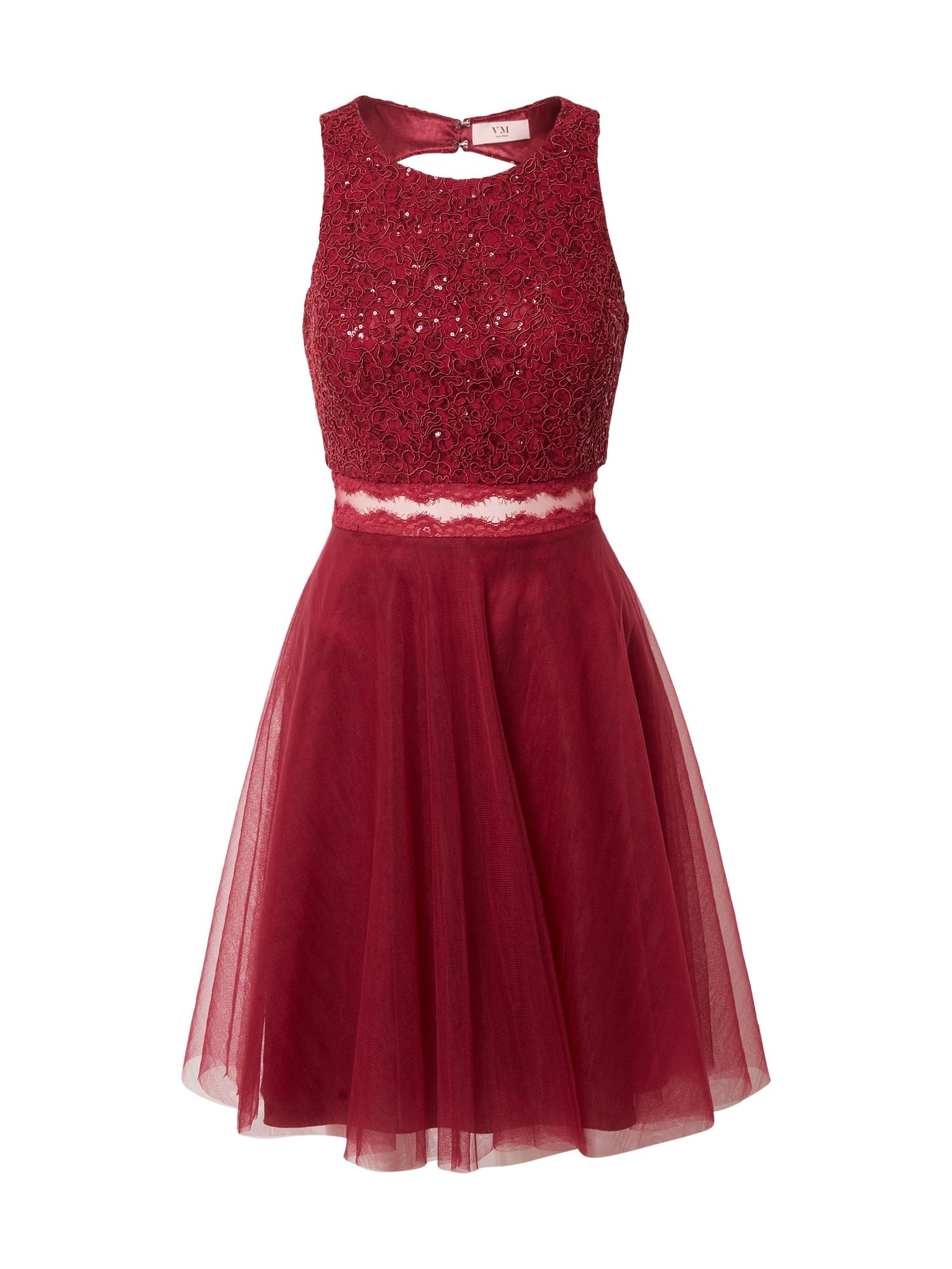 VM Vera Mont Kokteilinė suknelė vyno raudona spalva